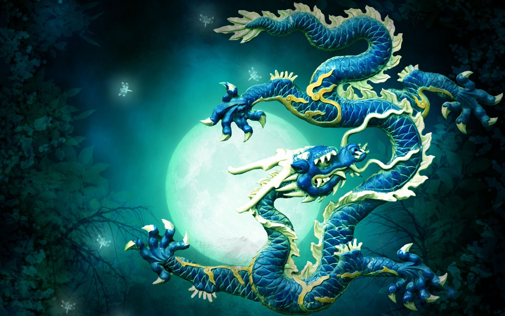 Blue Chinese Dragon Wallpapers - Top