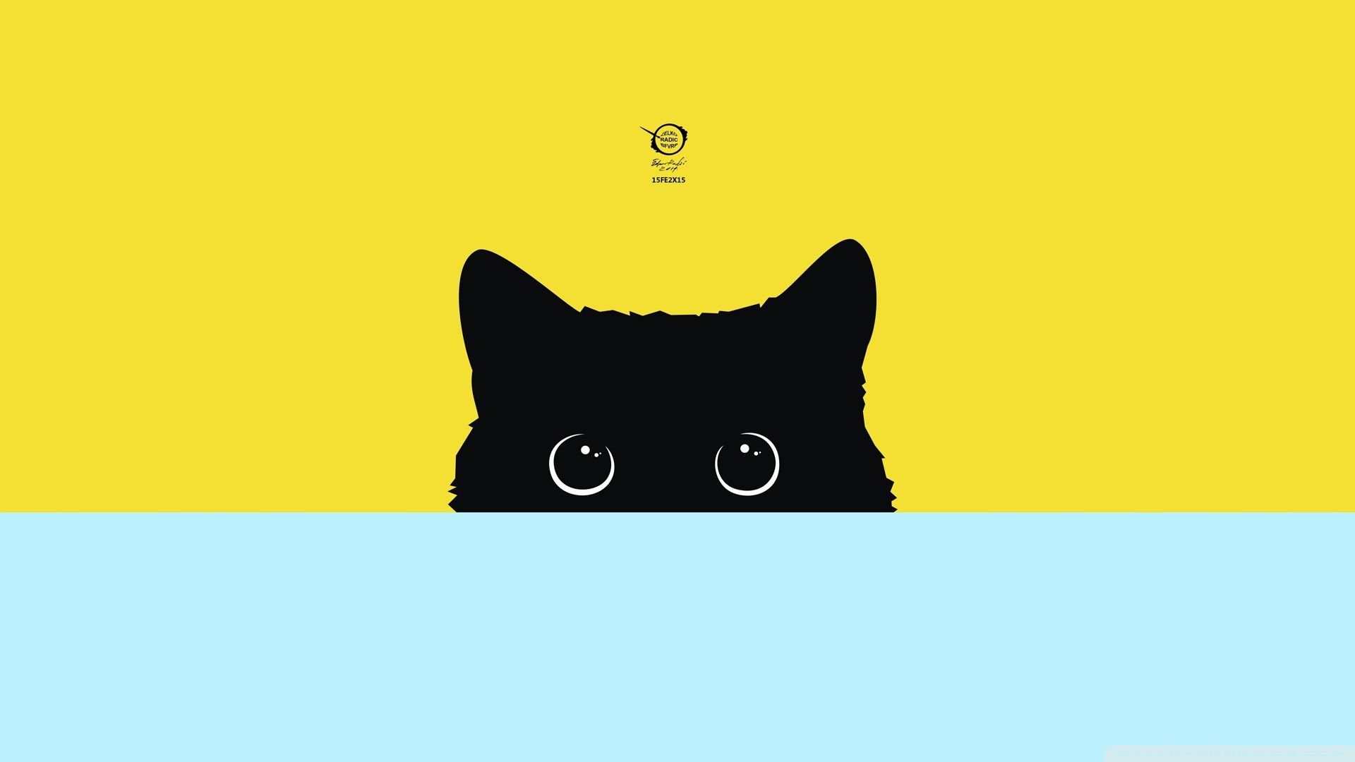 Cartoon cat desktop wallpapers top free cartoon cat - Cat wallpaper cartoon ...