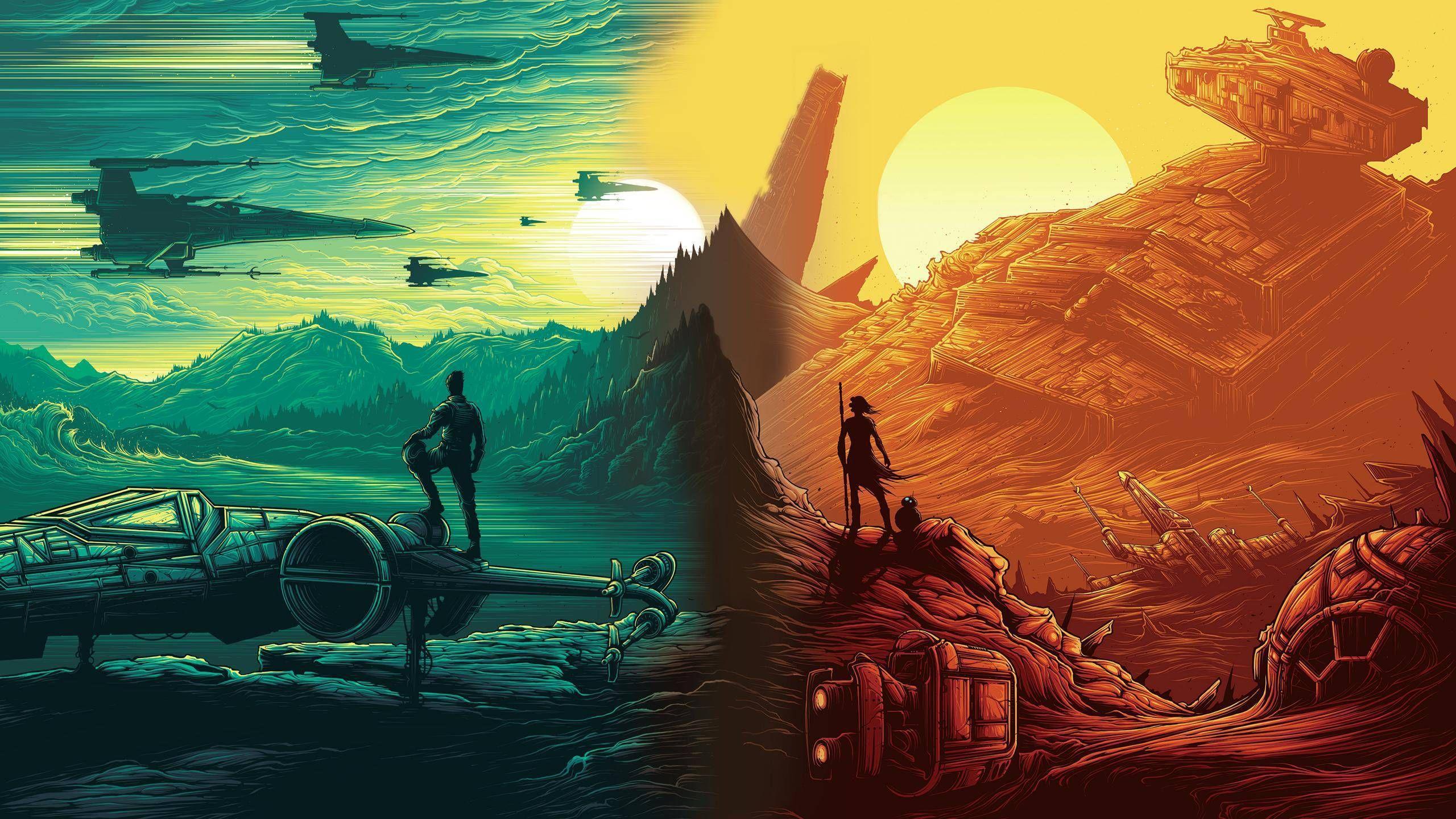 Star Wars Art Wallpapers Top Free Star Wars Art Backgrounds Wallpaperaccess