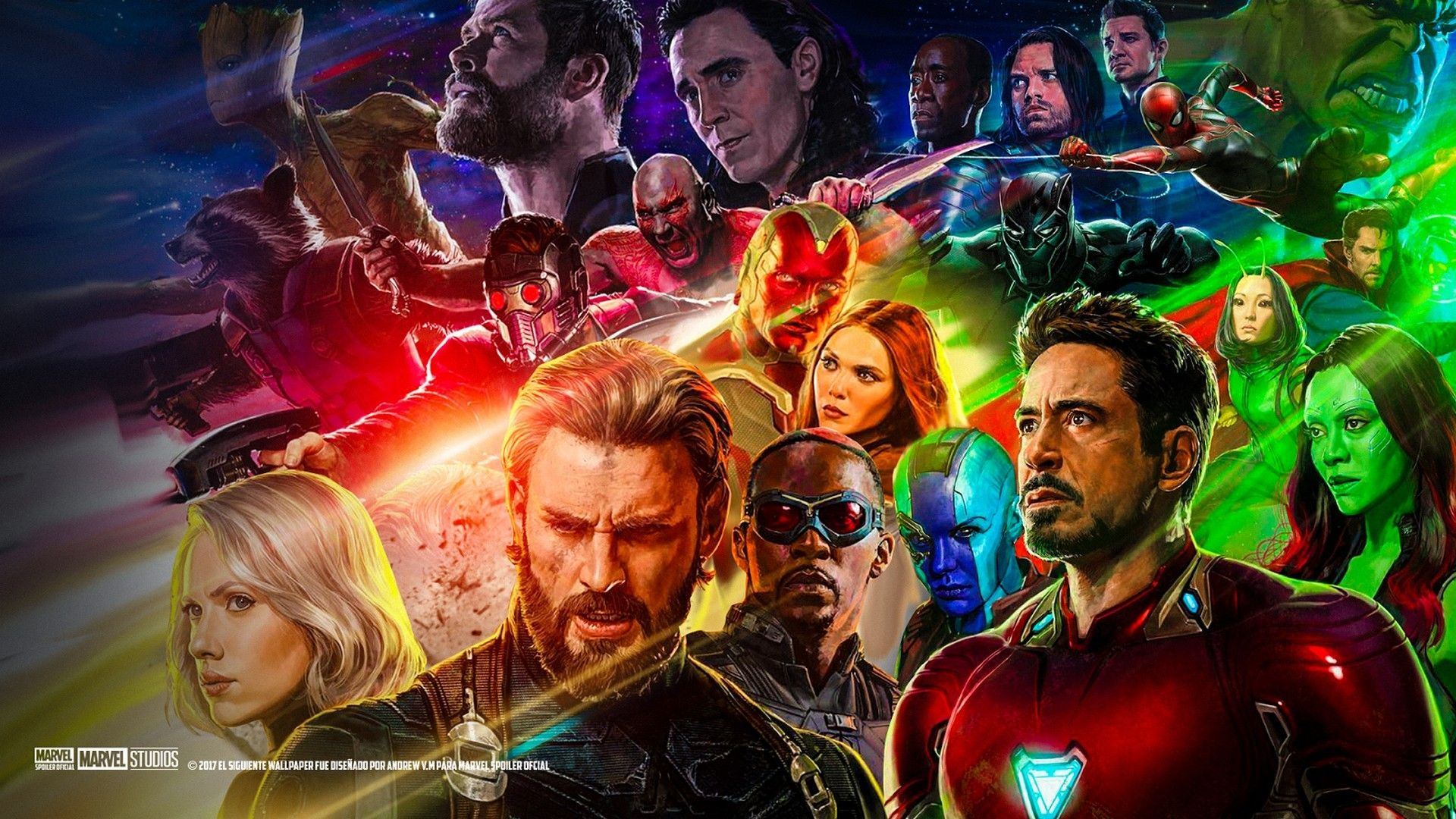 Official Avengers Infinity War Wallpapers Top Free Official