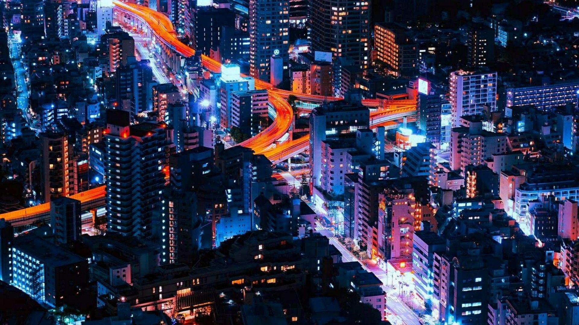 41 Best Free City Lights Wallpapers Wallpaperaccess