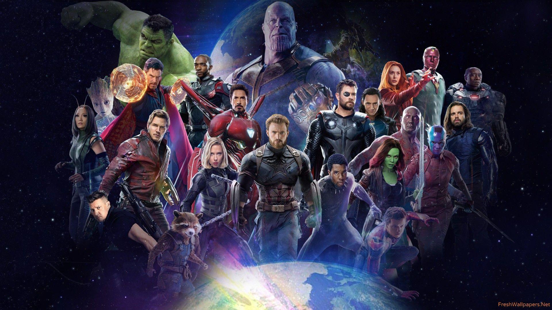 52 Best Free Avengers Infinity War Poster Wallpapers Wallpaperaccess