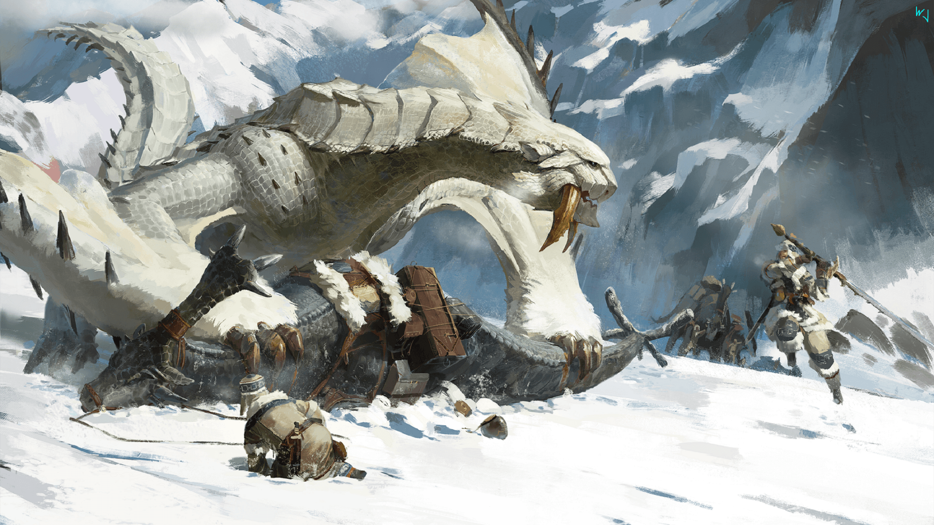 Monster Hunter Barioth Wallpapers Top Free Monster Hunter