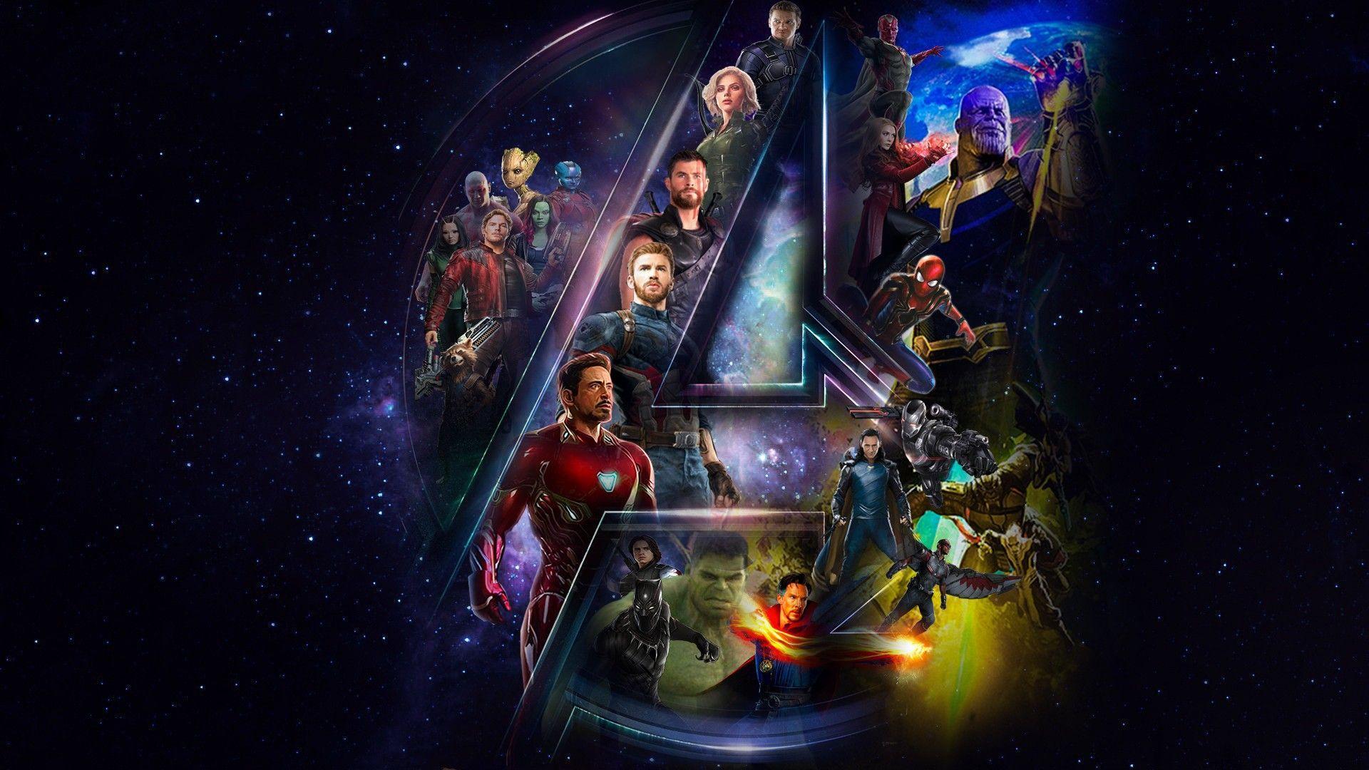 67 Best Free Avengers Infinity War Poster Widescreen Wallpapers