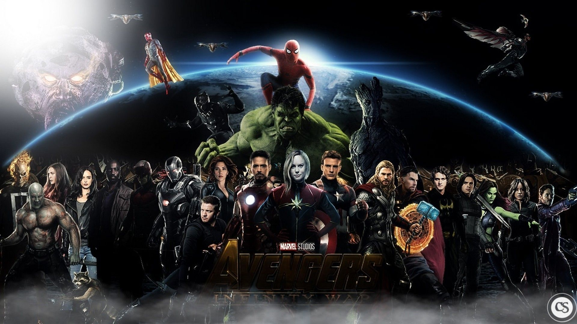 "1600x900 Avengers 4 End Game And Infinity War HD Wallpapers Download In 4K ..."">"