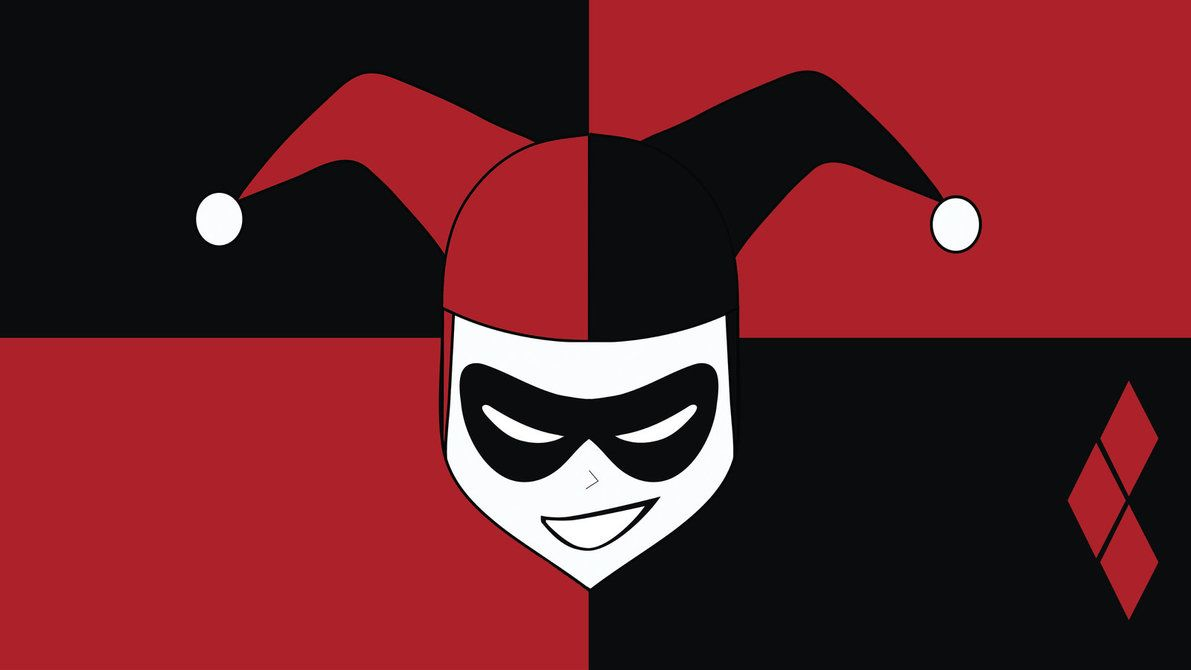 Harley Quinn Logo Wallpapers - Top Free Harley Quinn Logo ...