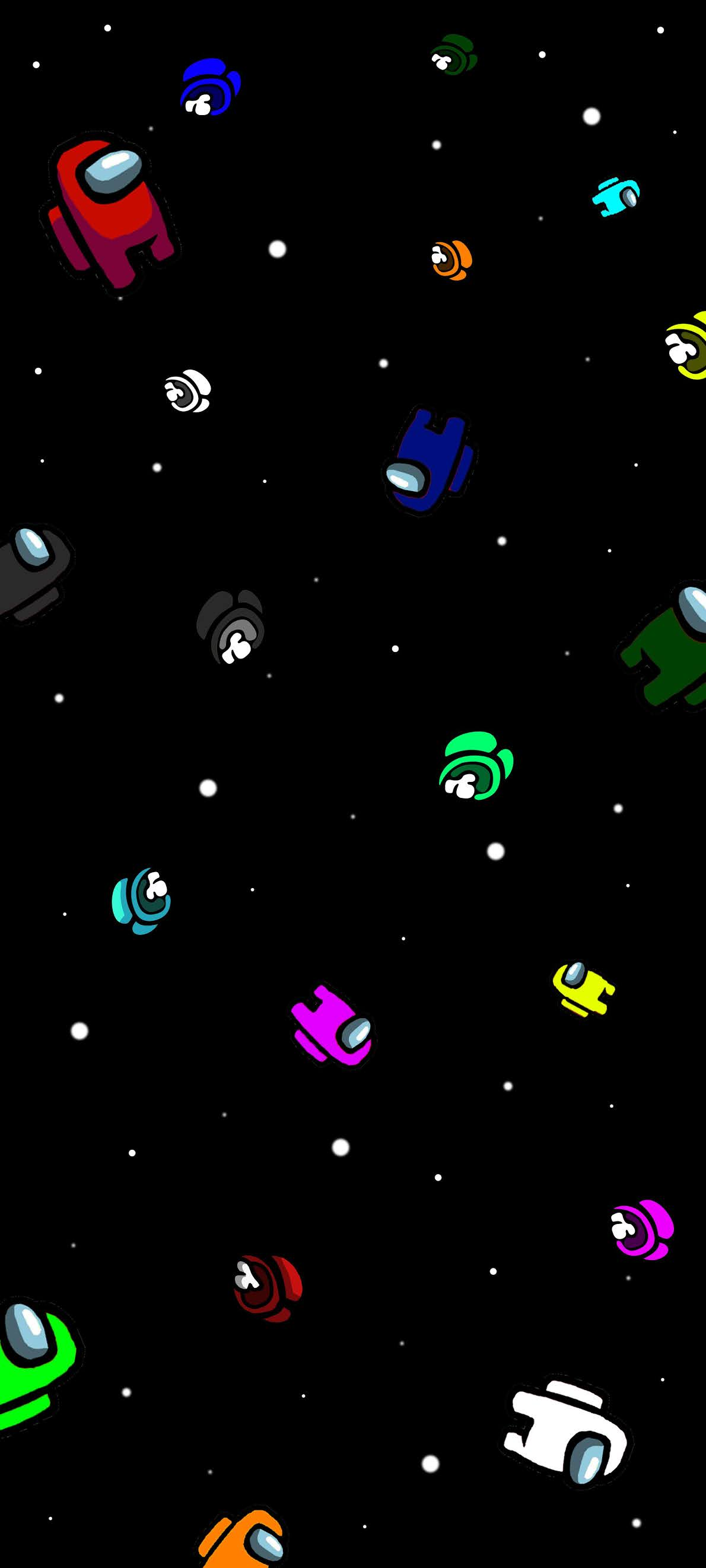 Among Us Space Wallpapers Top Free Among Us Space Backgrounds Wallpaperaccess