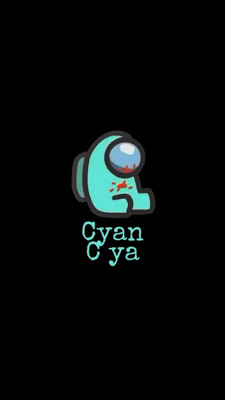 Among Us Cyan Wallpapers Top Free Among Us Cyan Backgrounds Wallpaperaccess