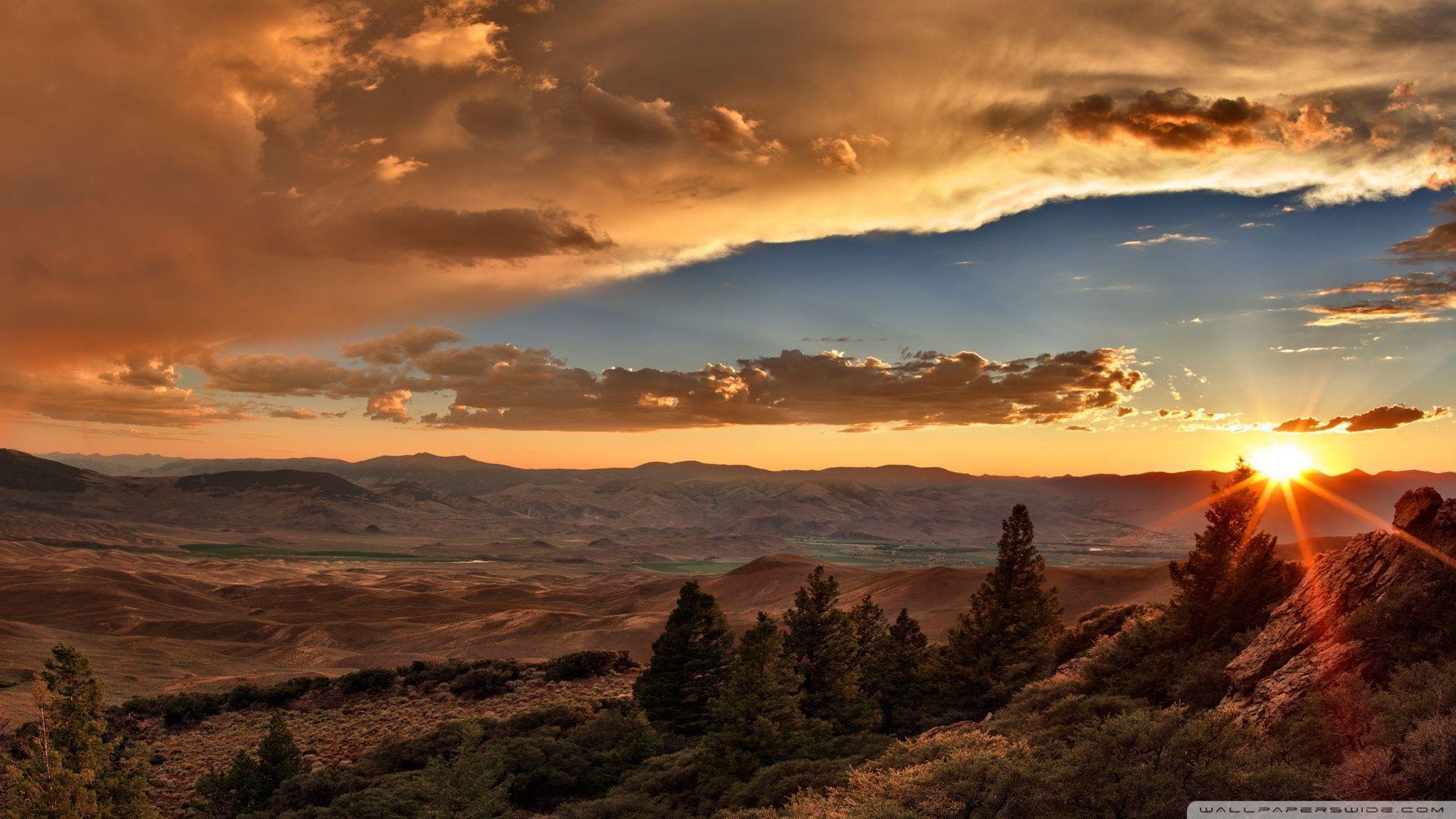 Desert Sunset Wallpapers Top Free Desert Sunset