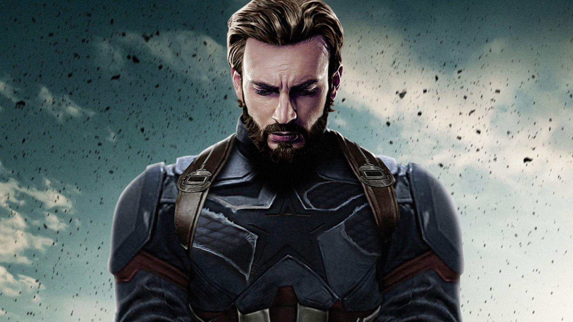 Captain America Infinity War Hd Wallpapers