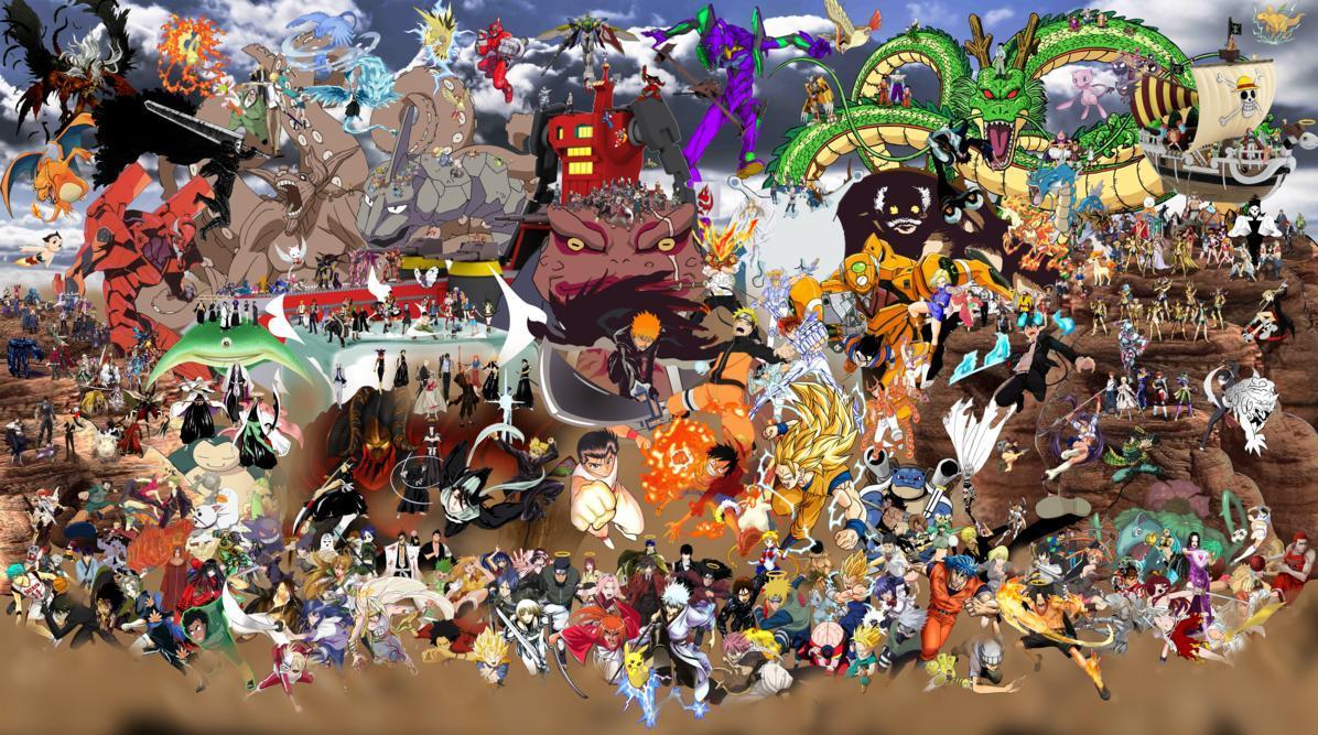 1063x752 Shonen Jump Vs Anime