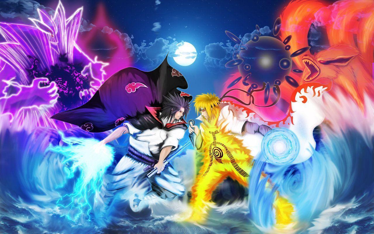 Cartoon Naruto Hd Wallpapers Top Free Cartoon Naruto Hd Backgrounds Wallpaperaccess