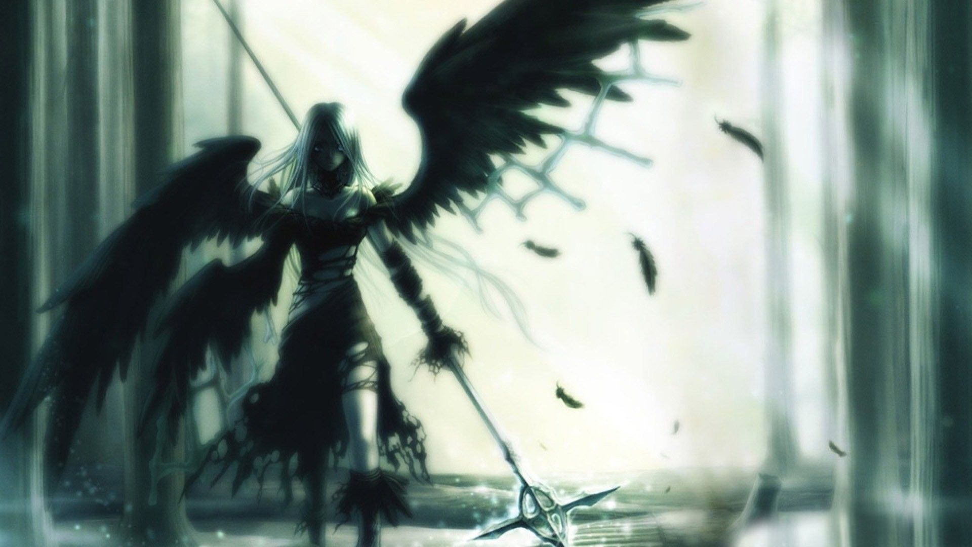 Dark angel wallpapers top free dark angel backgrounds - Dark angel anime wallpaper ...
