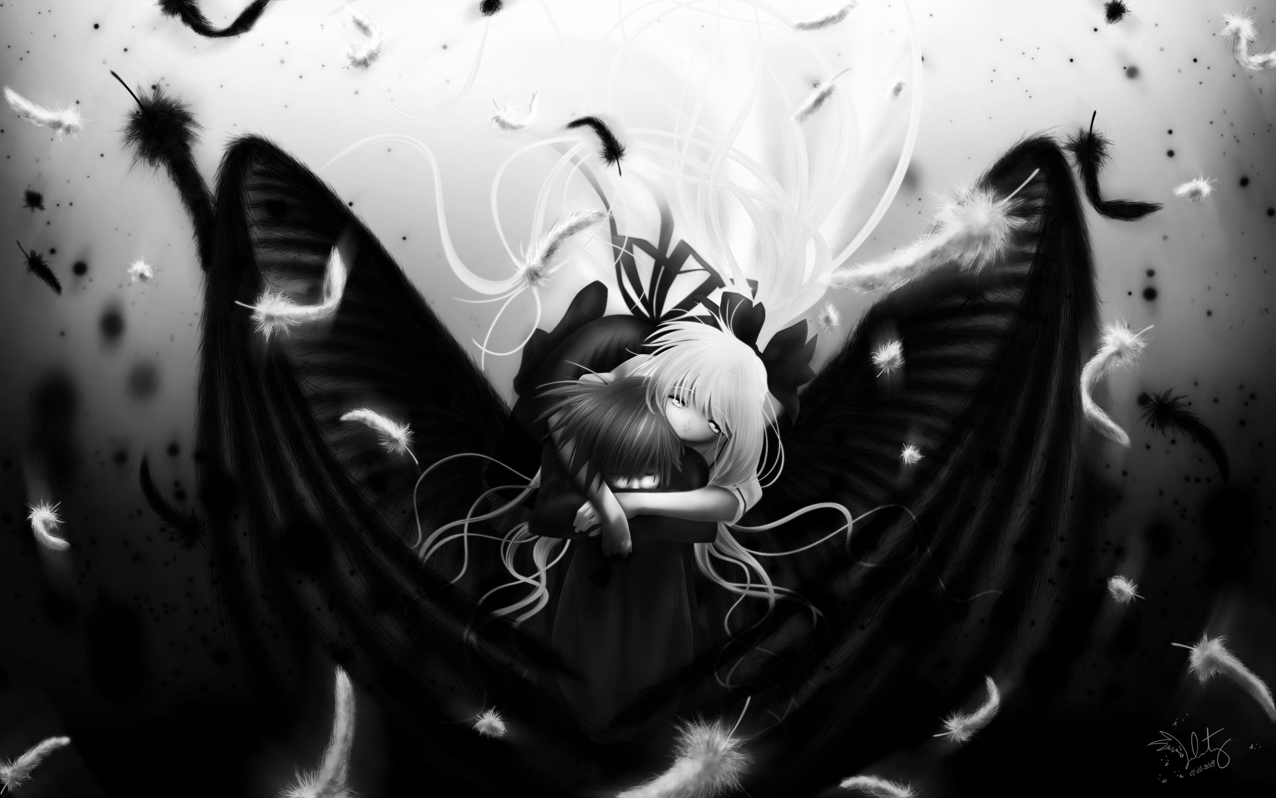 50 Best Free Awesome Dark Angel Anime Wallpapers Wallpaperaccess