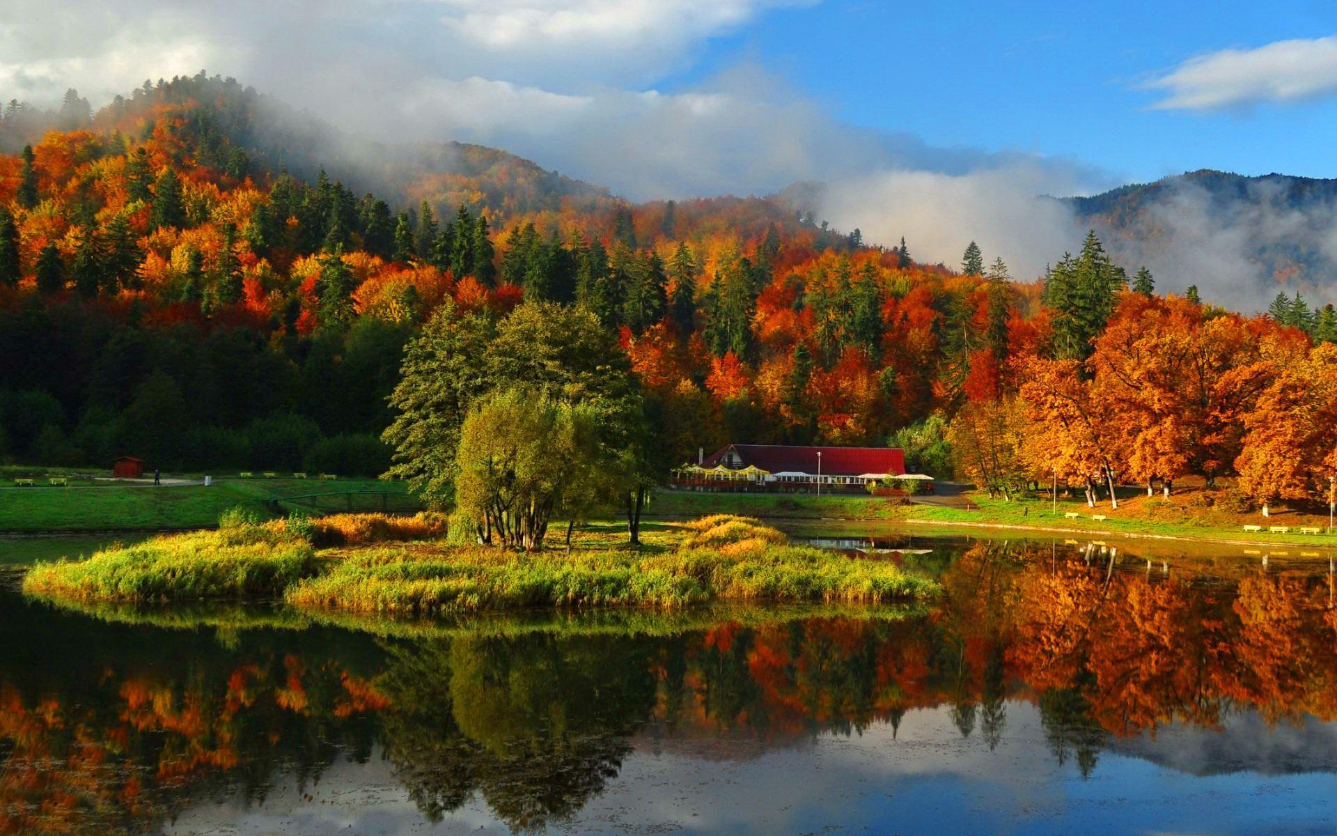 Fall Mountain Wallpapers - Top Free Fall Mountain ...