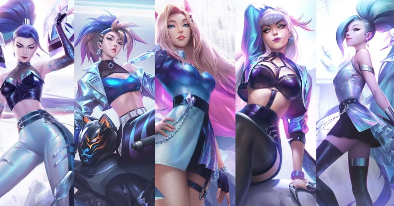 KDA All Out Wallpapers - Top Free KDA All Out Backgrounds - WallpaperAccess