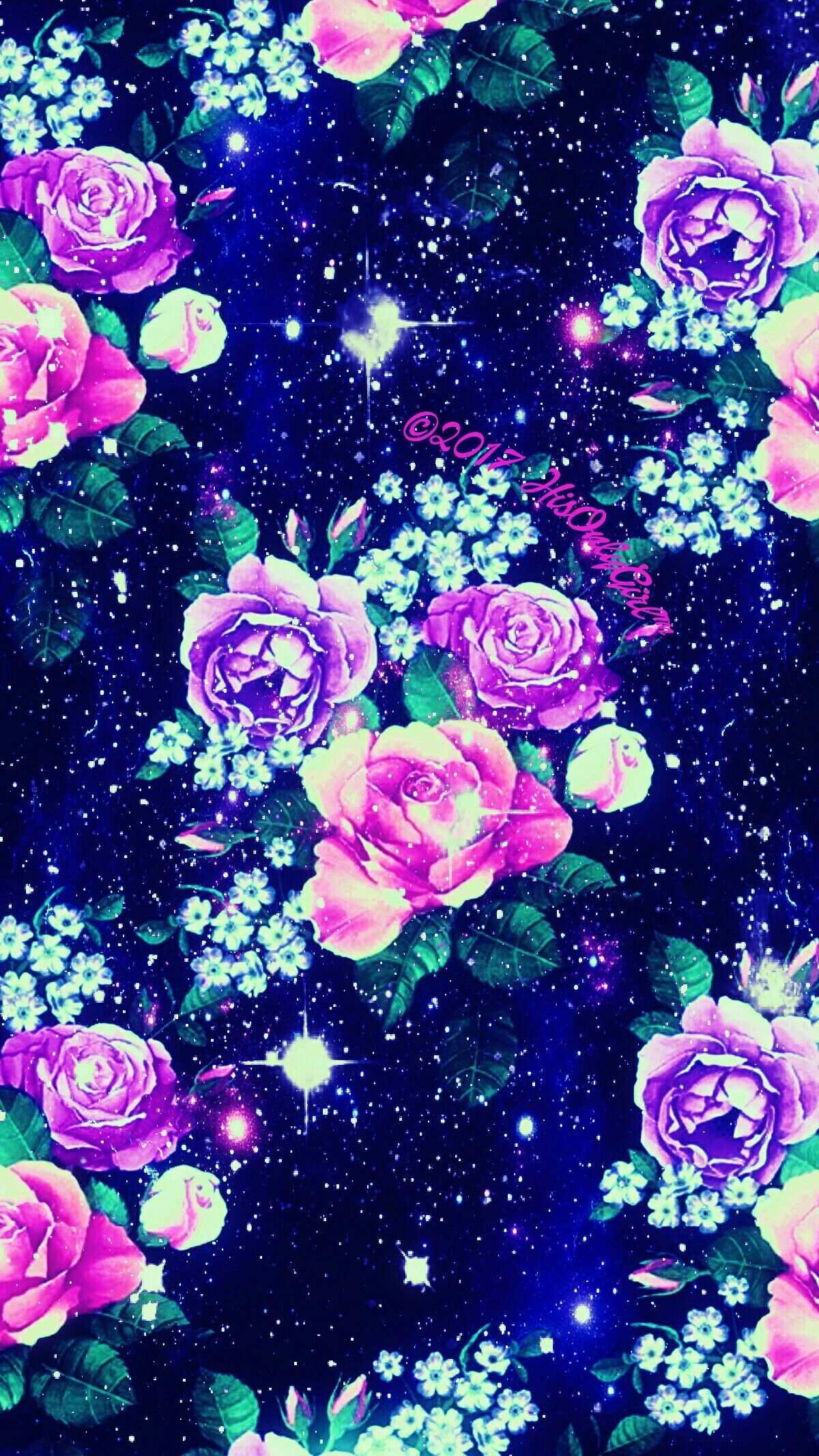 Rose Galaxy Wallpapers Top Free Rose Galaxy Backgrounds Wallpaperaccess