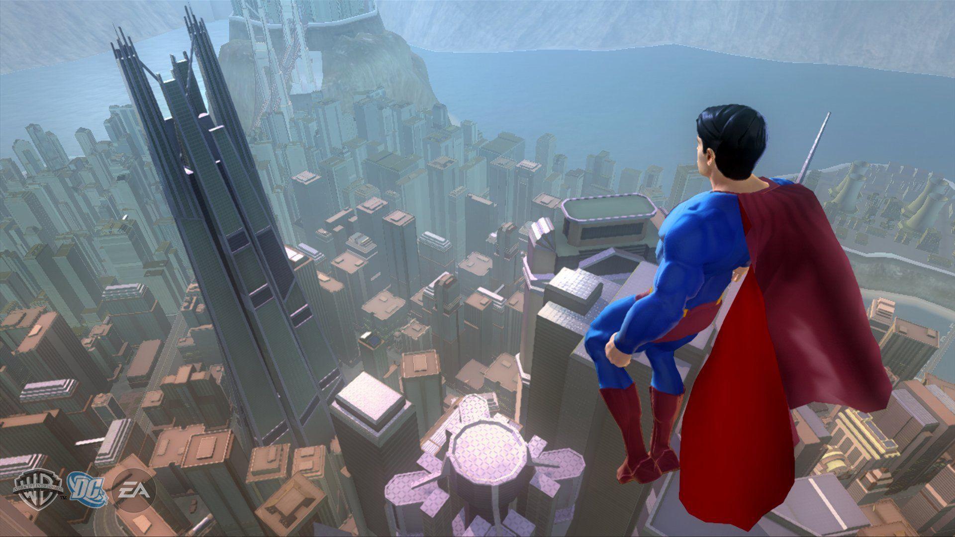 Superman Game Wallpapers Top Free Superman Game