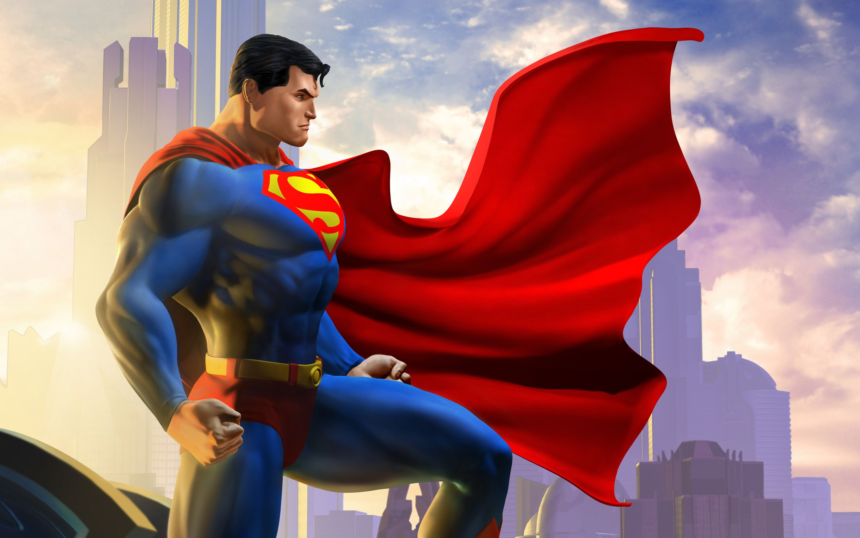 Superman Game Wallpapers - Top Free Superman Game Backgrounds -  WallpaperAccess