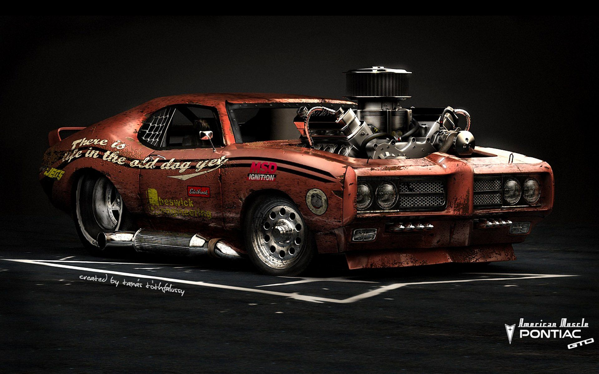 Hot Rod Muscle Car Wallpapers - Top