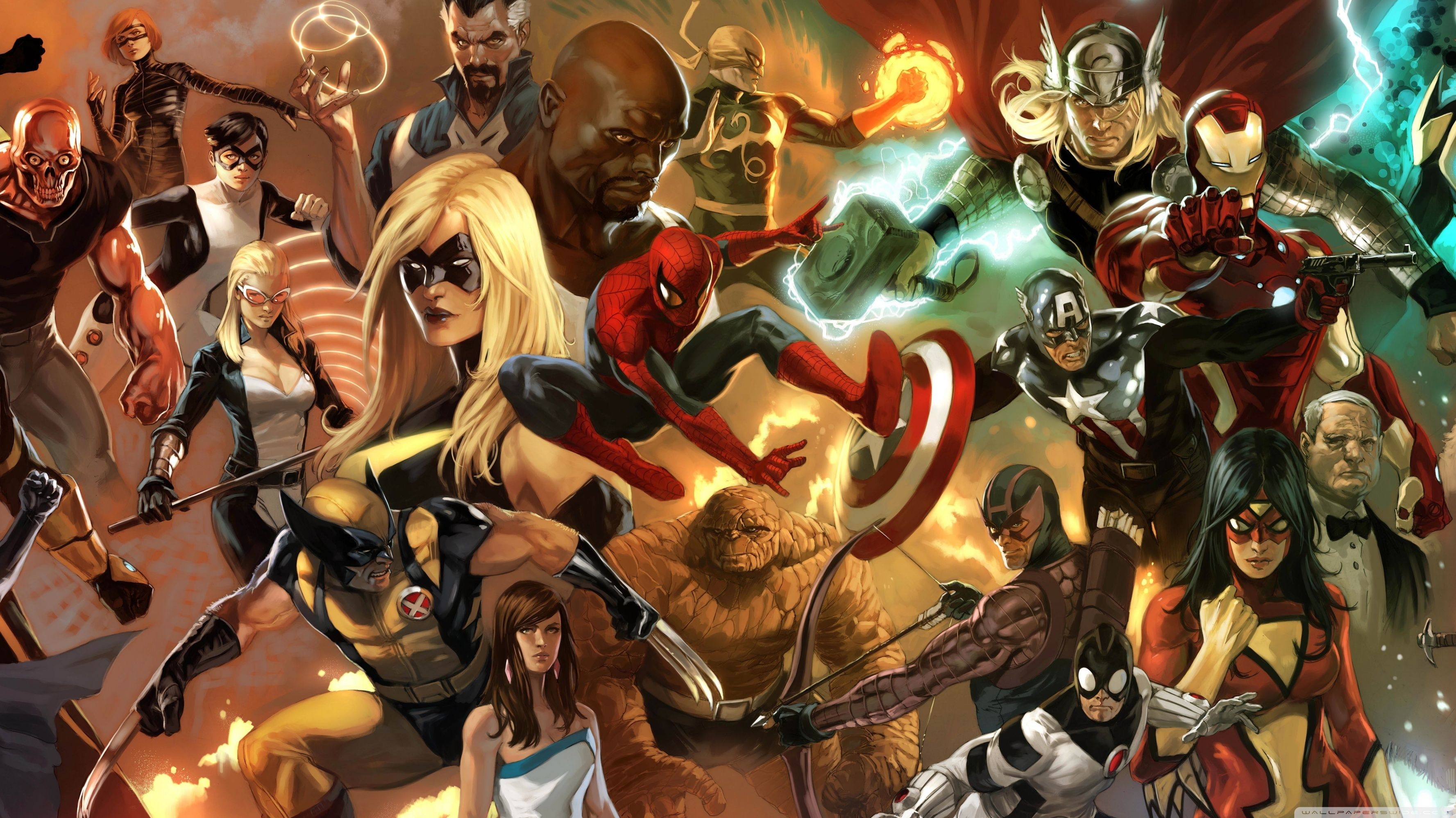 Marvel 3840 X 2160 Wallpapers