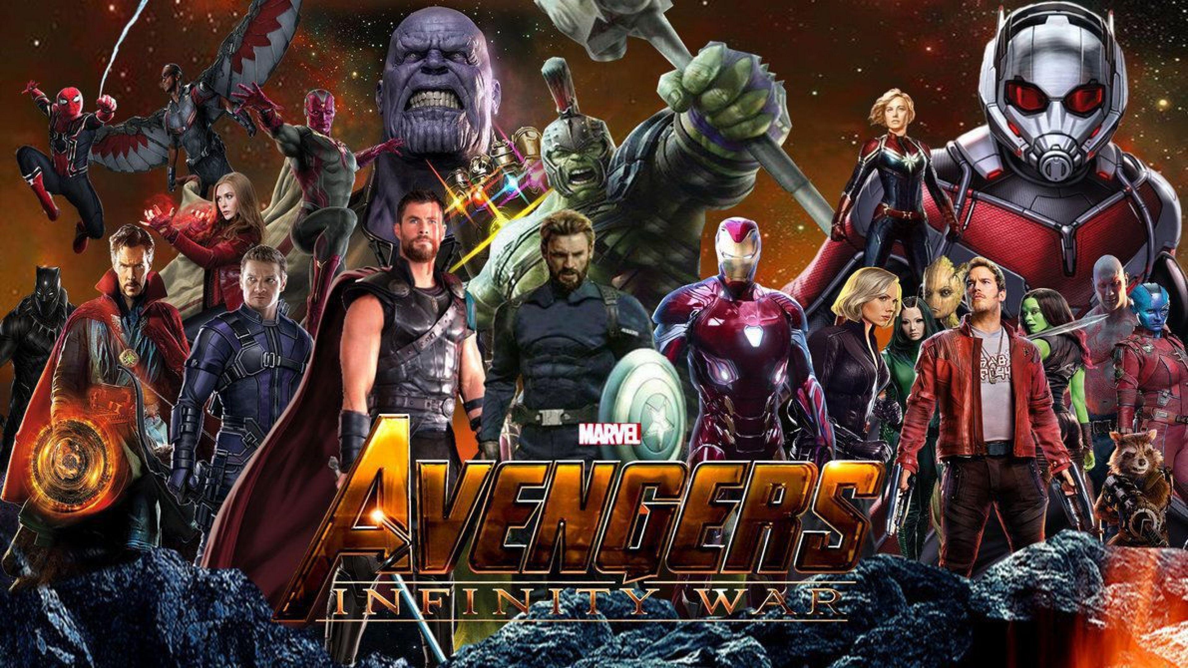 Marvel 3840 x 2160 wallpapers top free marvel 3840 x - Avengers civil war wallpaper ...