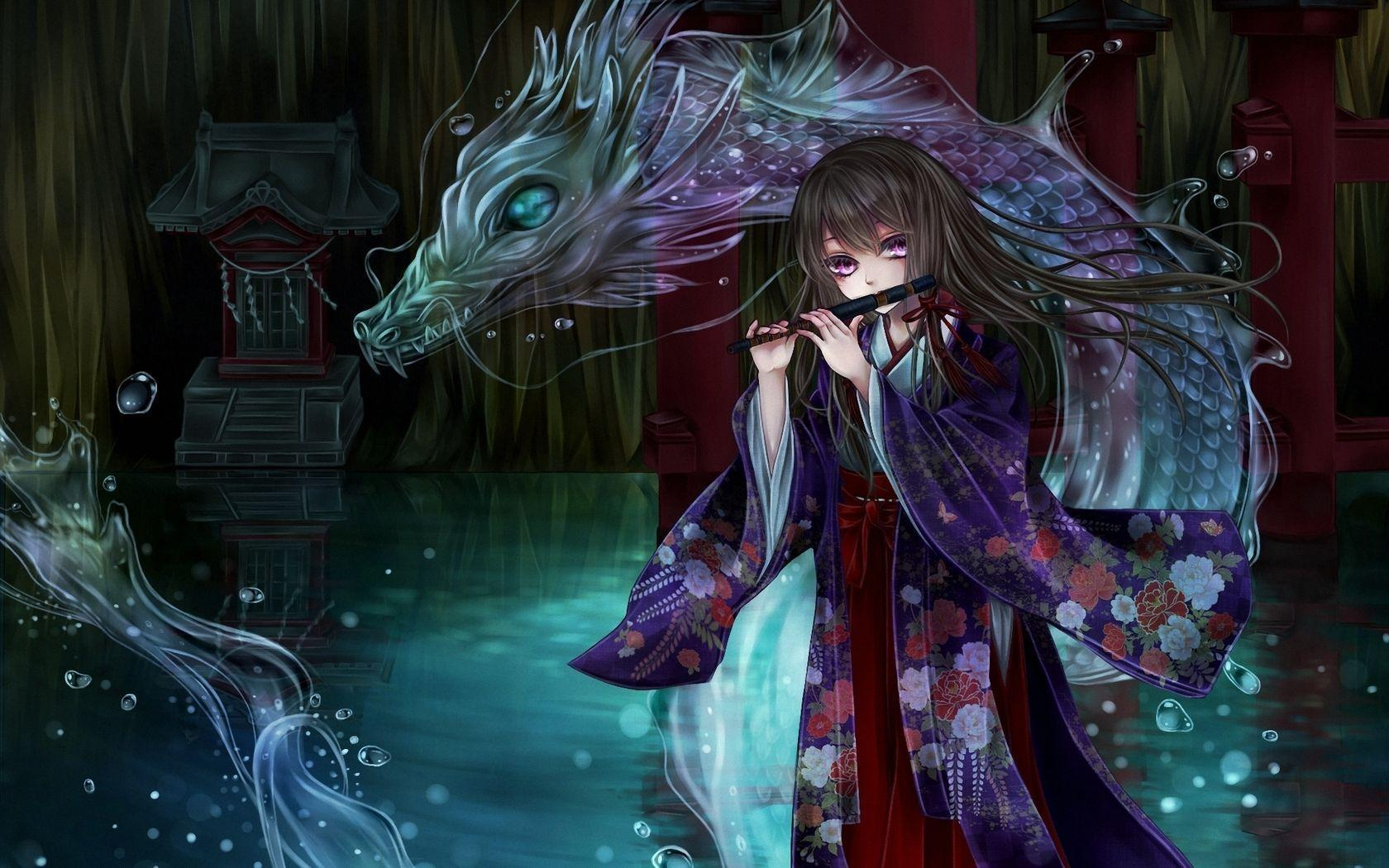 Anime Dragon Wallpapers - Top Free Anime Dragon Backgrounds