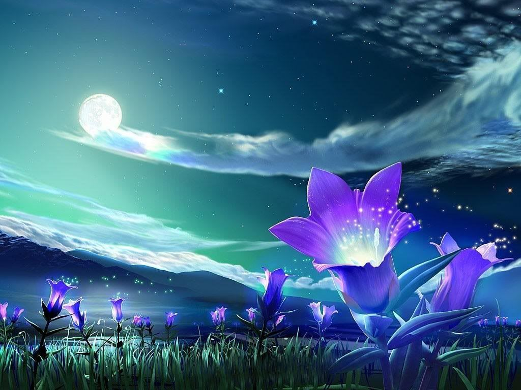 Beautiful Anime Flower Wallpapers - Top Free Beautiful Anime Flower  Backgrounds - WallpaperAccess