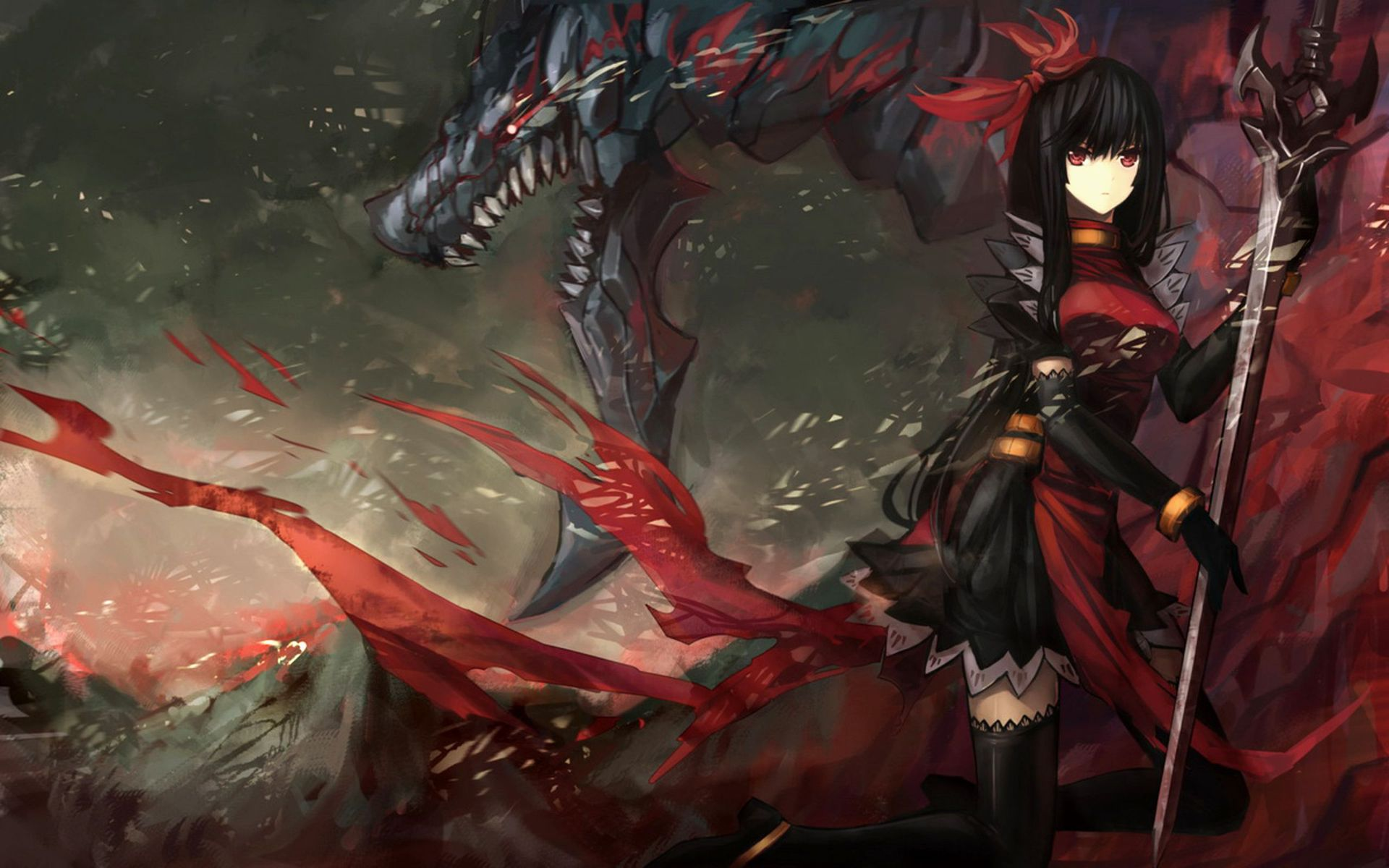68 Best Free Anime Dragon Wallpapers Wallpaperaccess