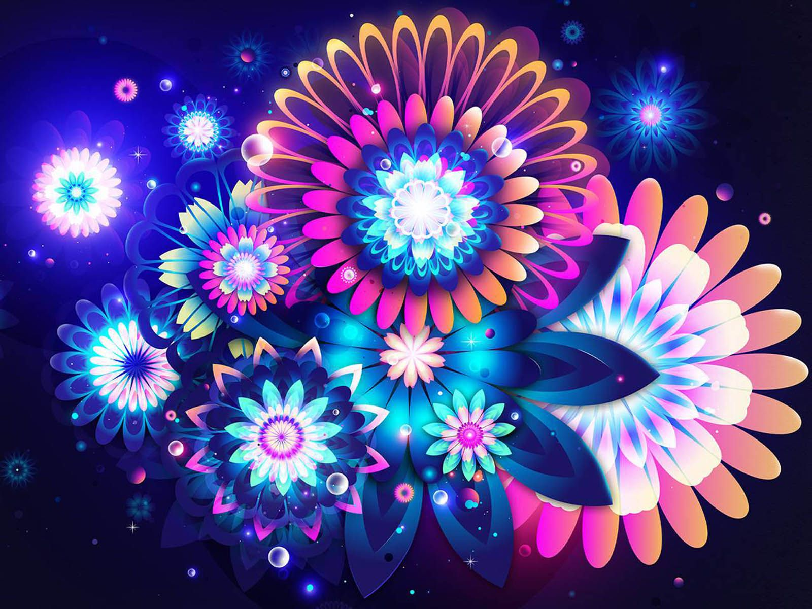 Abstract Flower Wallpapers Top Free Abstract Flower