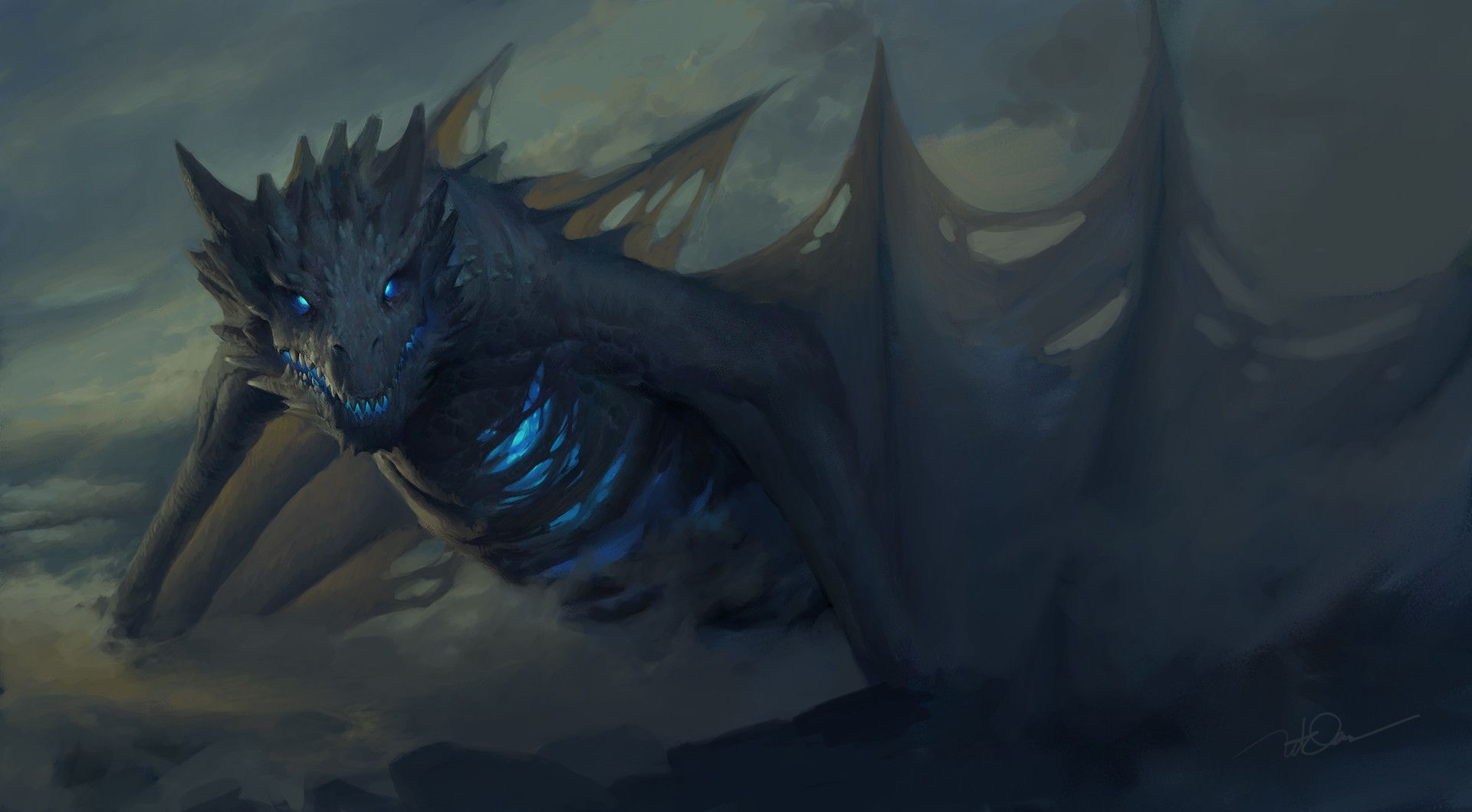 Ice Dragon Game of Thrones Wallpapers - Top Free Ice Dragon