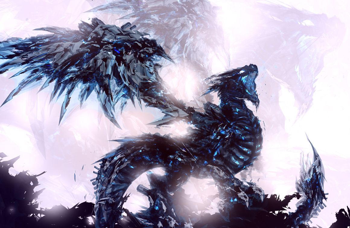 Ice Dragon Wallpapers - Top Free Ice Dragon Backgrounds