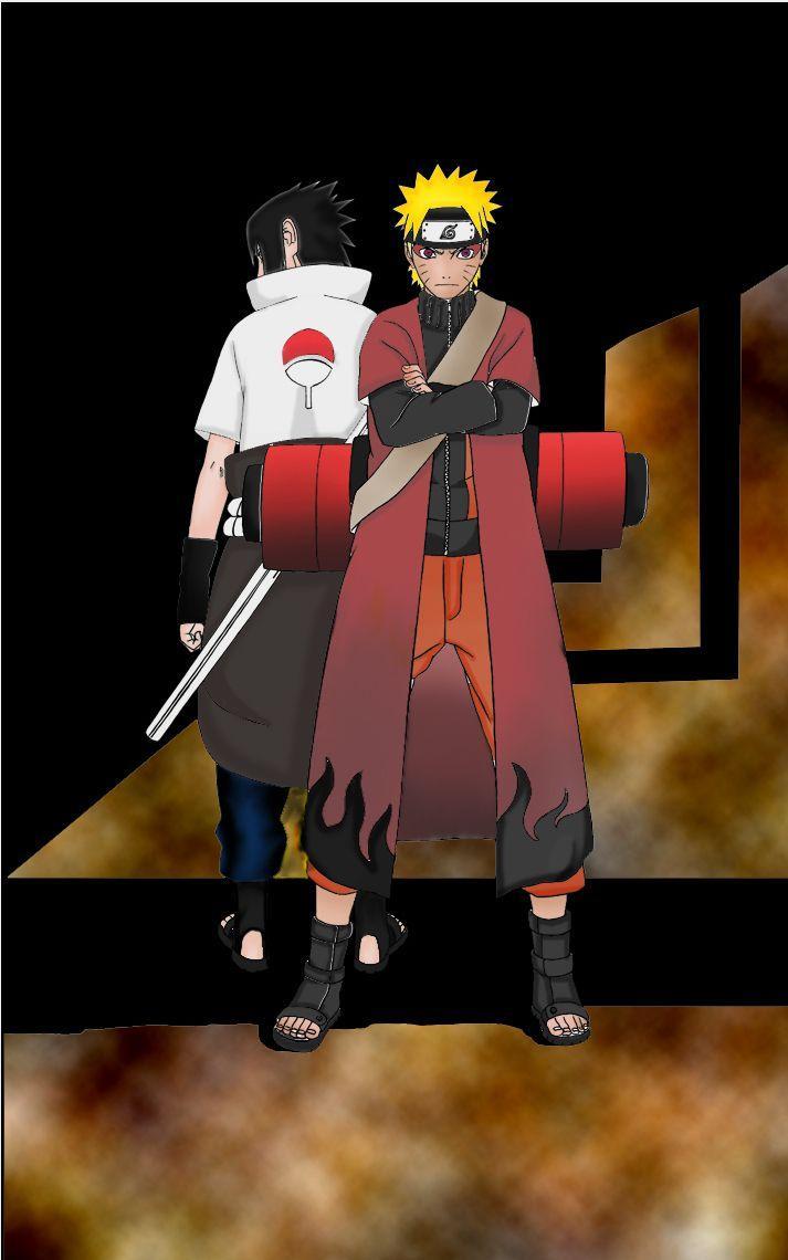 Naruto Sage Mode Iphone Wallpaper