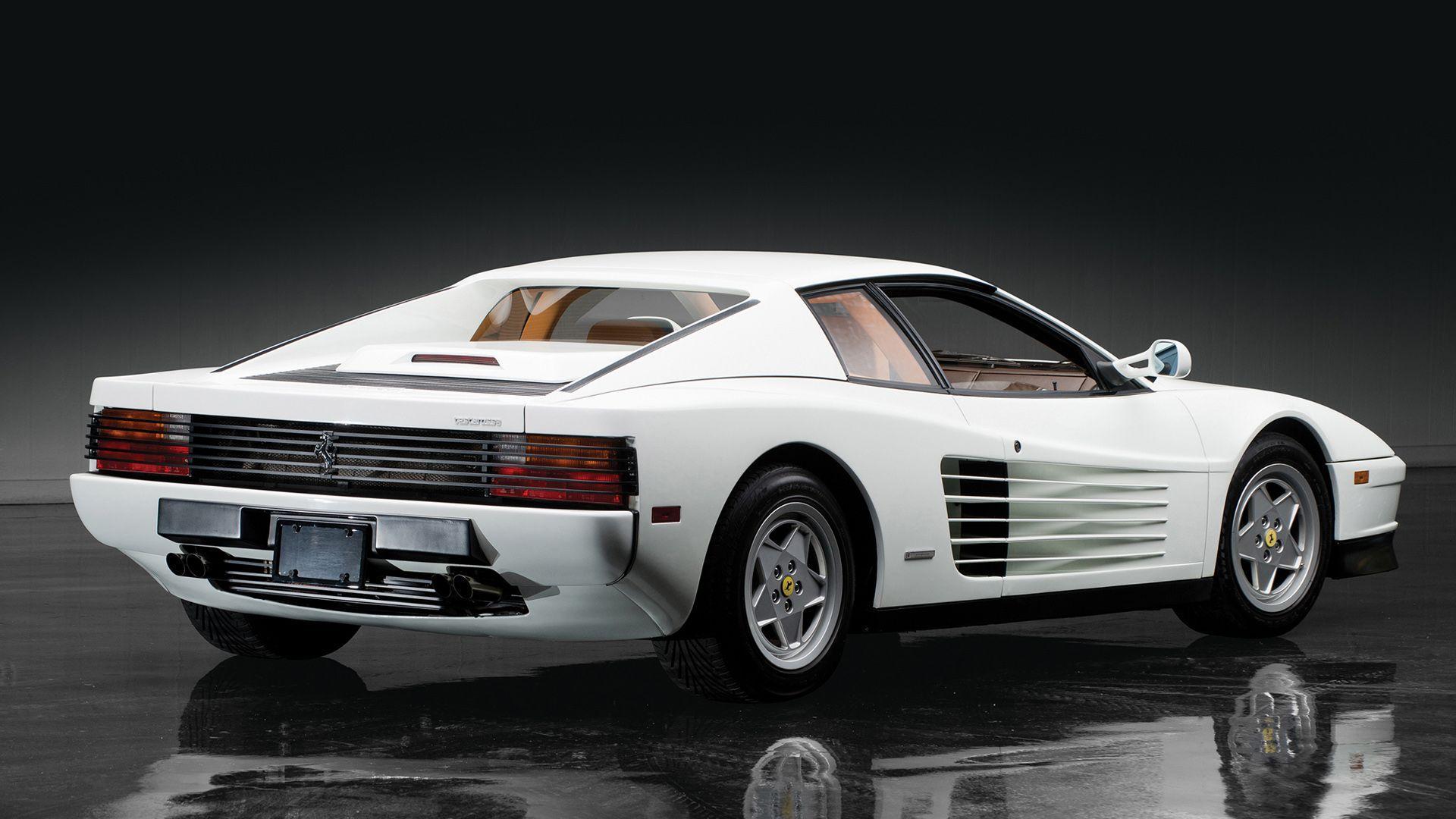 White Ferrari Testarossa Wallpapers Top Free White Ferrari Testarossa Backgrounds Wallpaperaccess