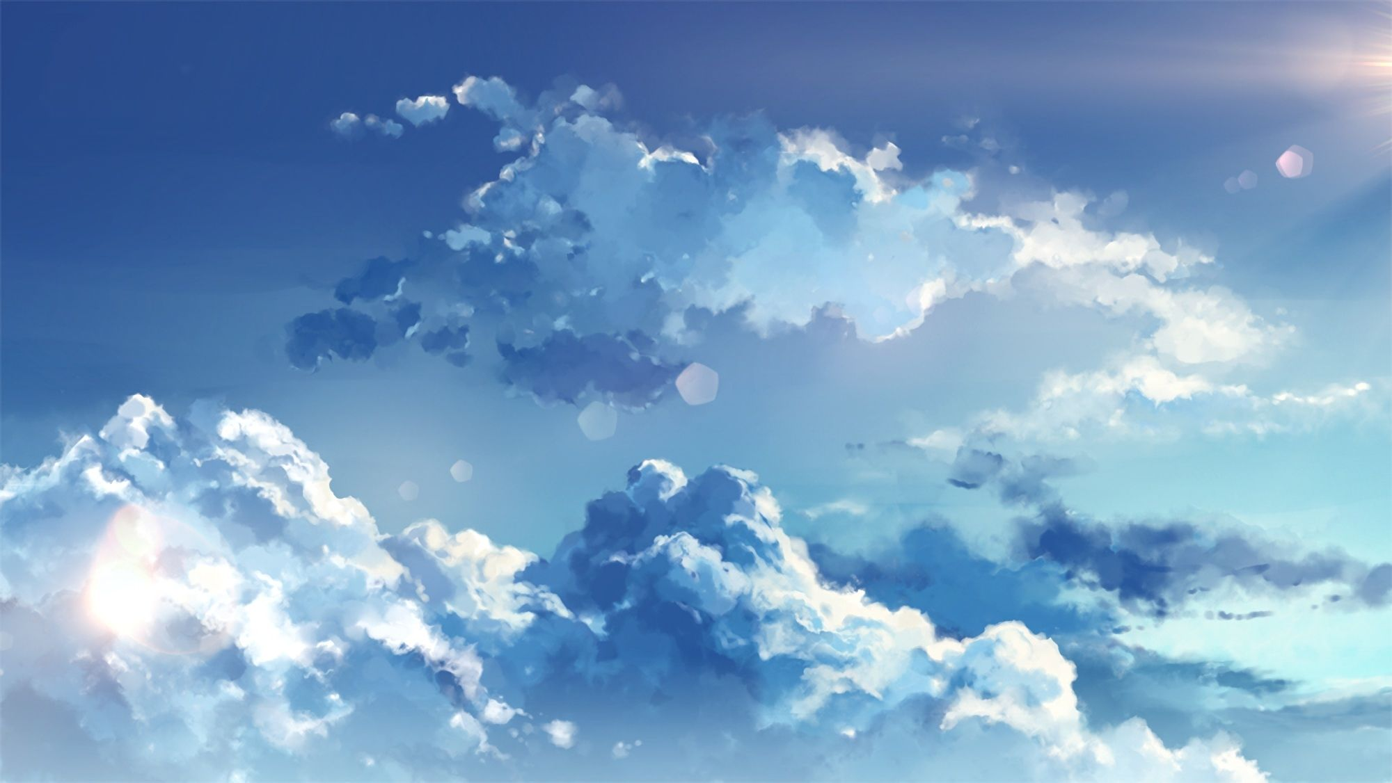 Anime Cloud Wallpapers Top Free Anime Cloud Backgrounds Wallpaperaccess