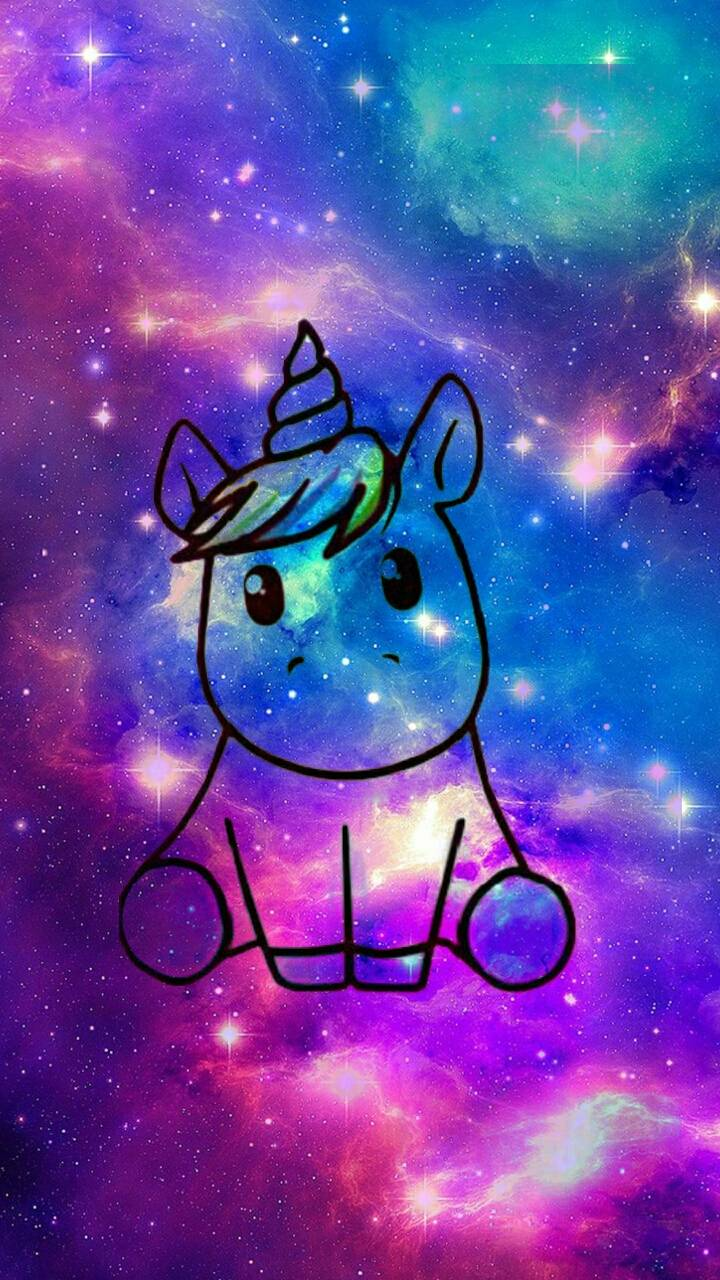 61+ Gambar Unicorn Lucu Galaxy Paling Hist