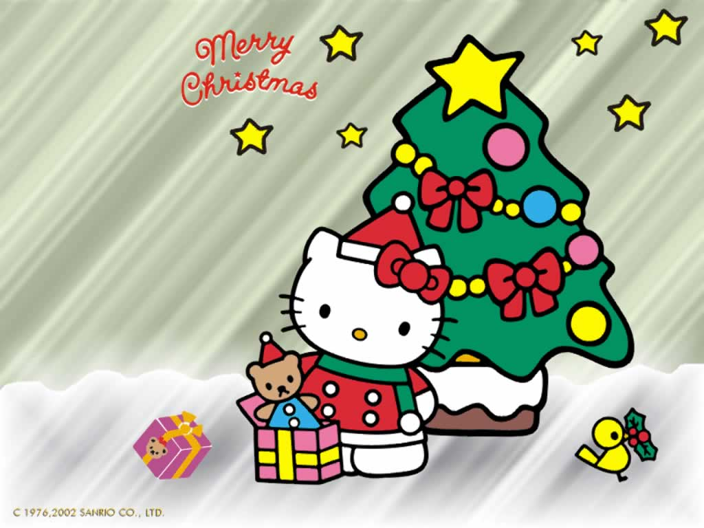 Hello Kitty Christmas.Hello Kitty Christmas Wallpapers Top Free Hello Kitty