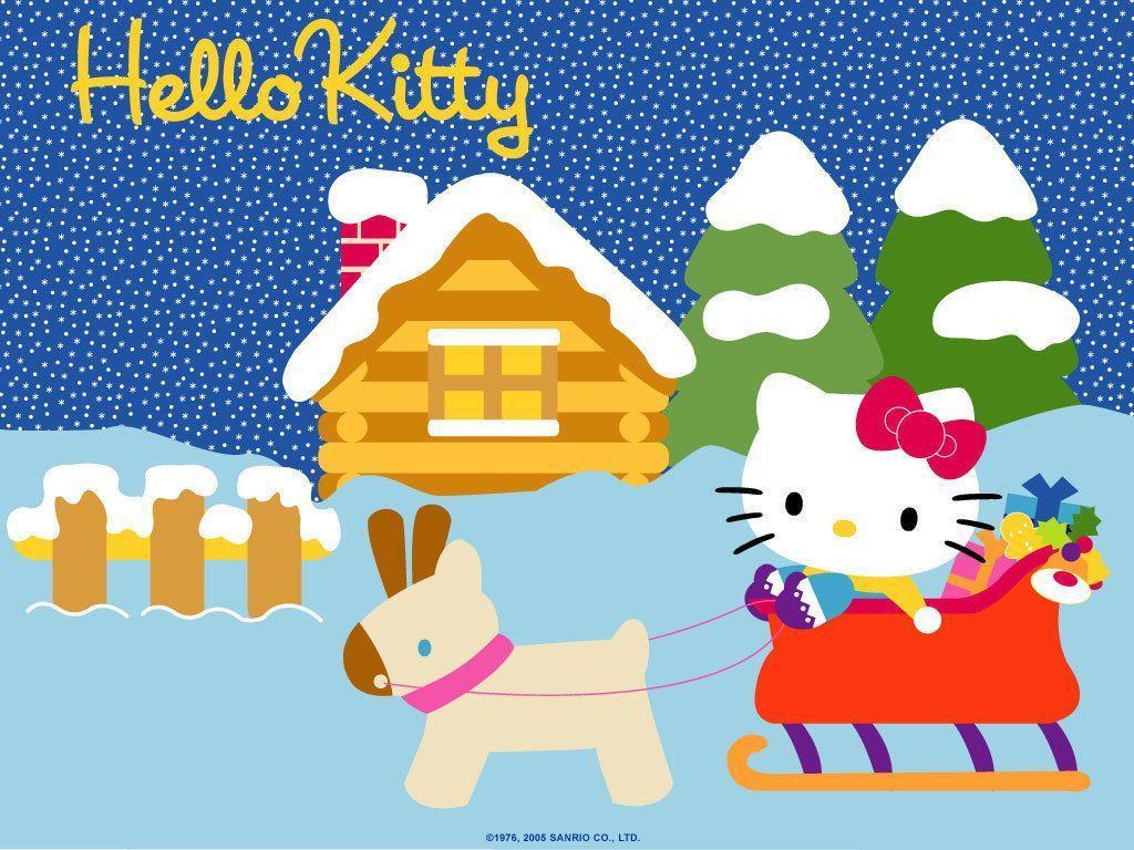 Hello Kitty Merry Christmas.Hello Kitty Christmas Wallpapers Top Free Hello Kitty