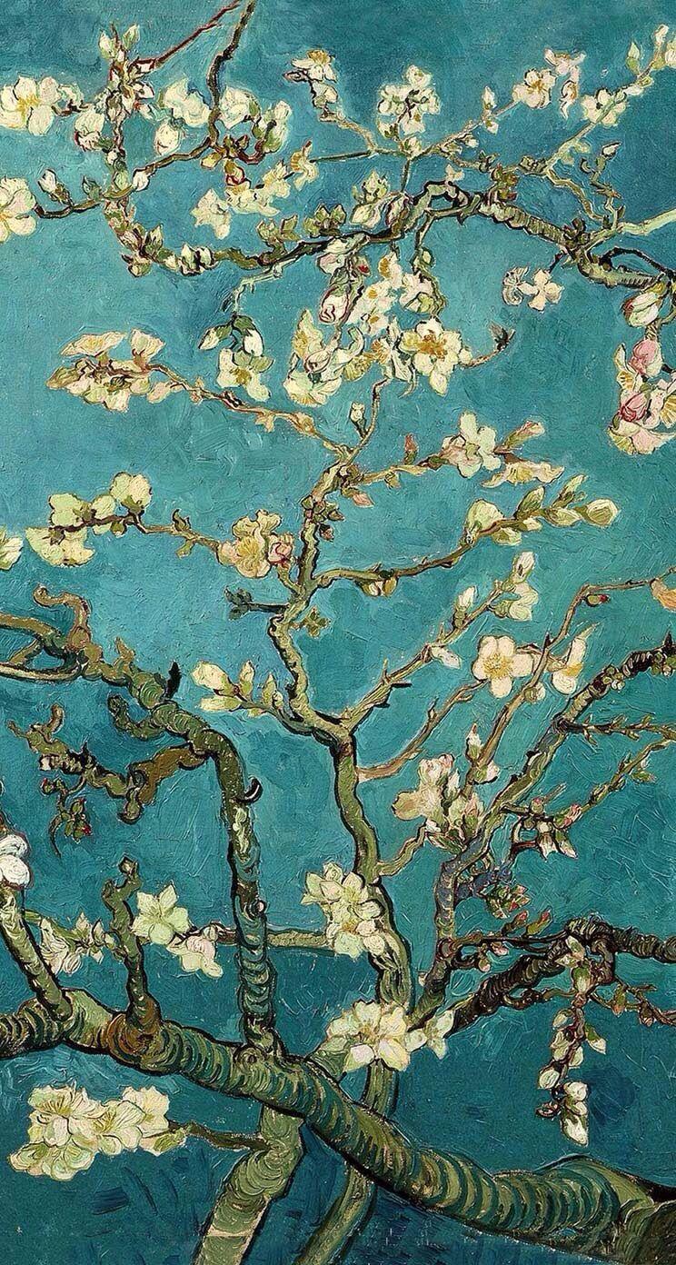Van Gogh Tree Wallpapers Top Free Van Gogh Tree Backgrounds Wallpaperaccess