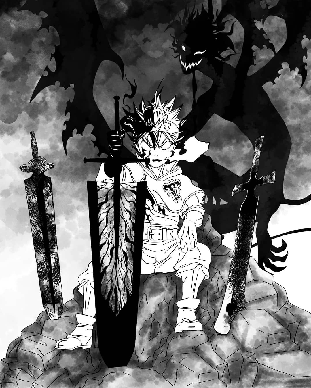 Black Clover Manga Wallpapers Top Free Black Clover Manga Backgrounds Wallpaperaccess