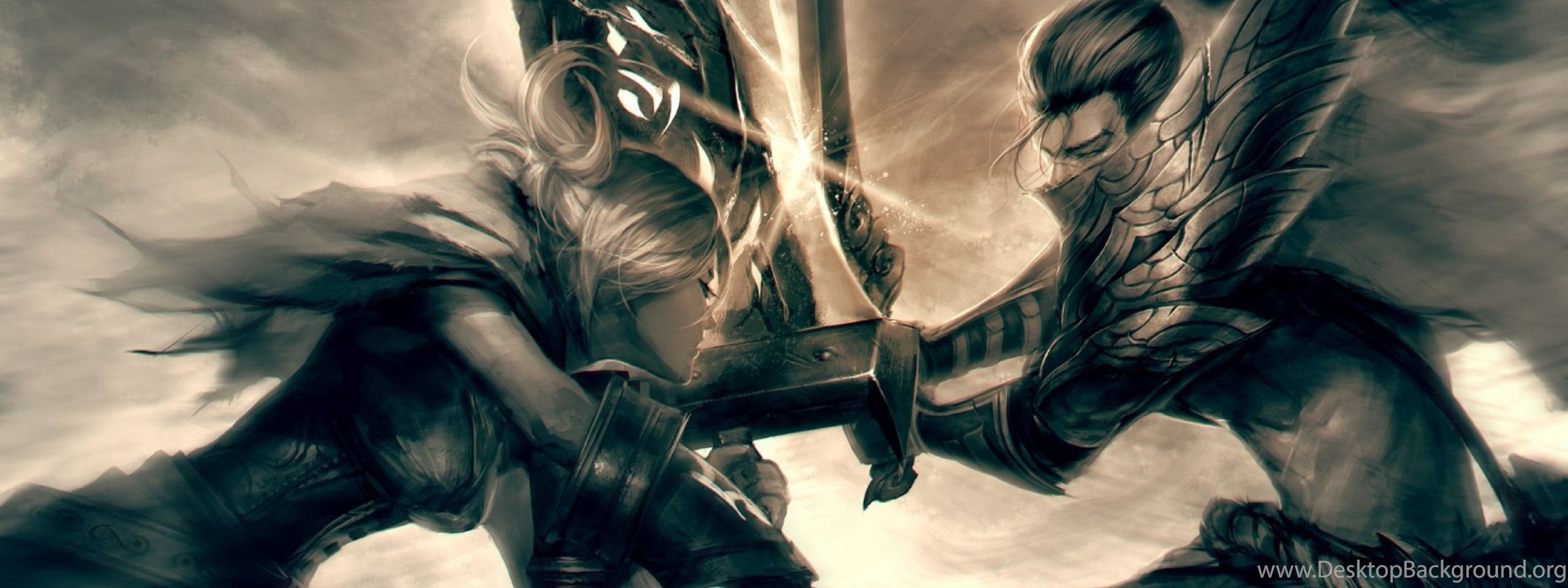 League of Legends Dual Screen Wallpapers - Top Free League of