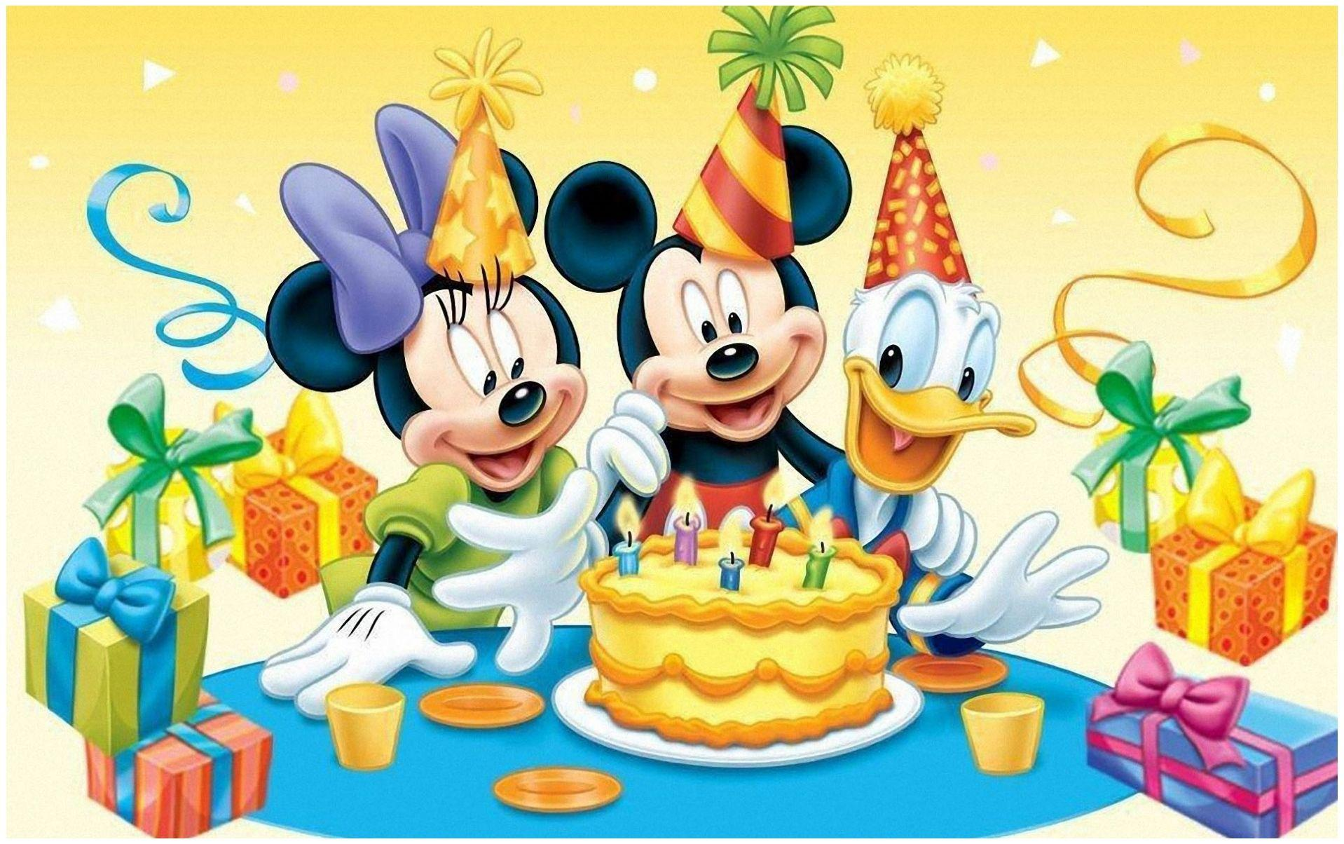 Disney Birthday Wallpapers - Top Free Disney Birthday Backgrounds -  WallpaperAccess