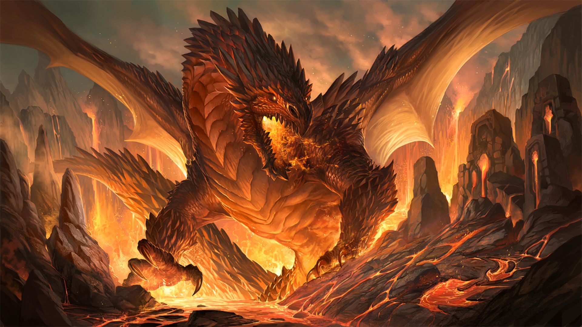 1080P Dragon Wallpapers - Top Free 1080P Dragon Backgrounds