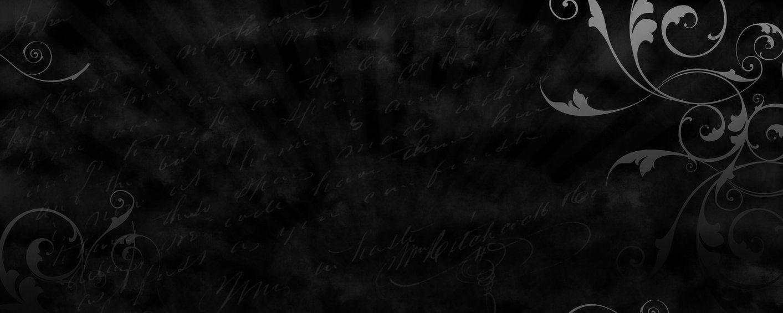 1413x565 Solid Black HD Wallpaper 12 Cool HD Wallpaper