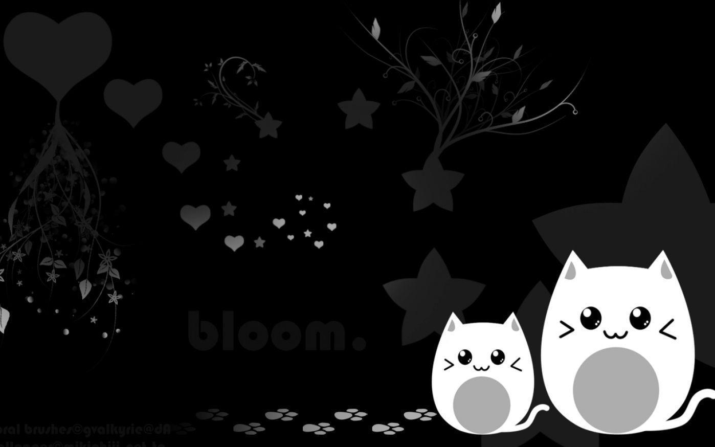 Cute Black Wallpapers Top Free Cute Black Backgrounds Wallpaperaccess