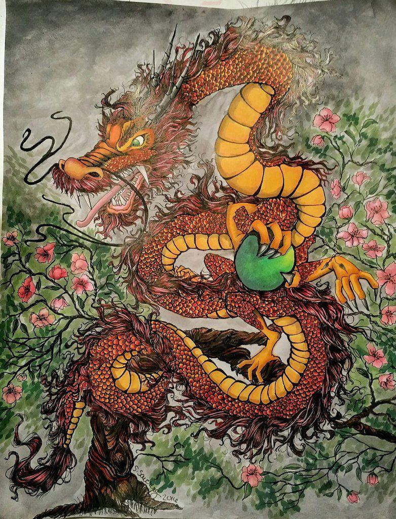 Korean Dragon: Ancient Korean Wallpapers