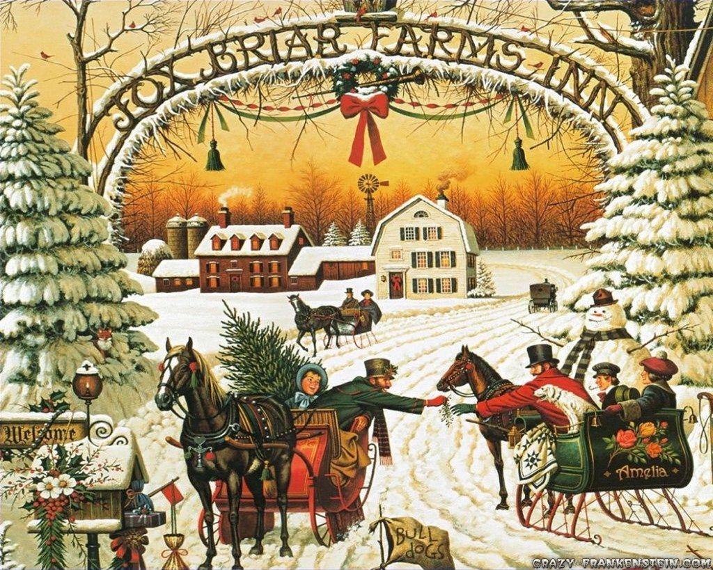 Nostalgic Christmas Wallpapers Top Free Nostalgic Christmas Backgrounds Wallpaperaccess