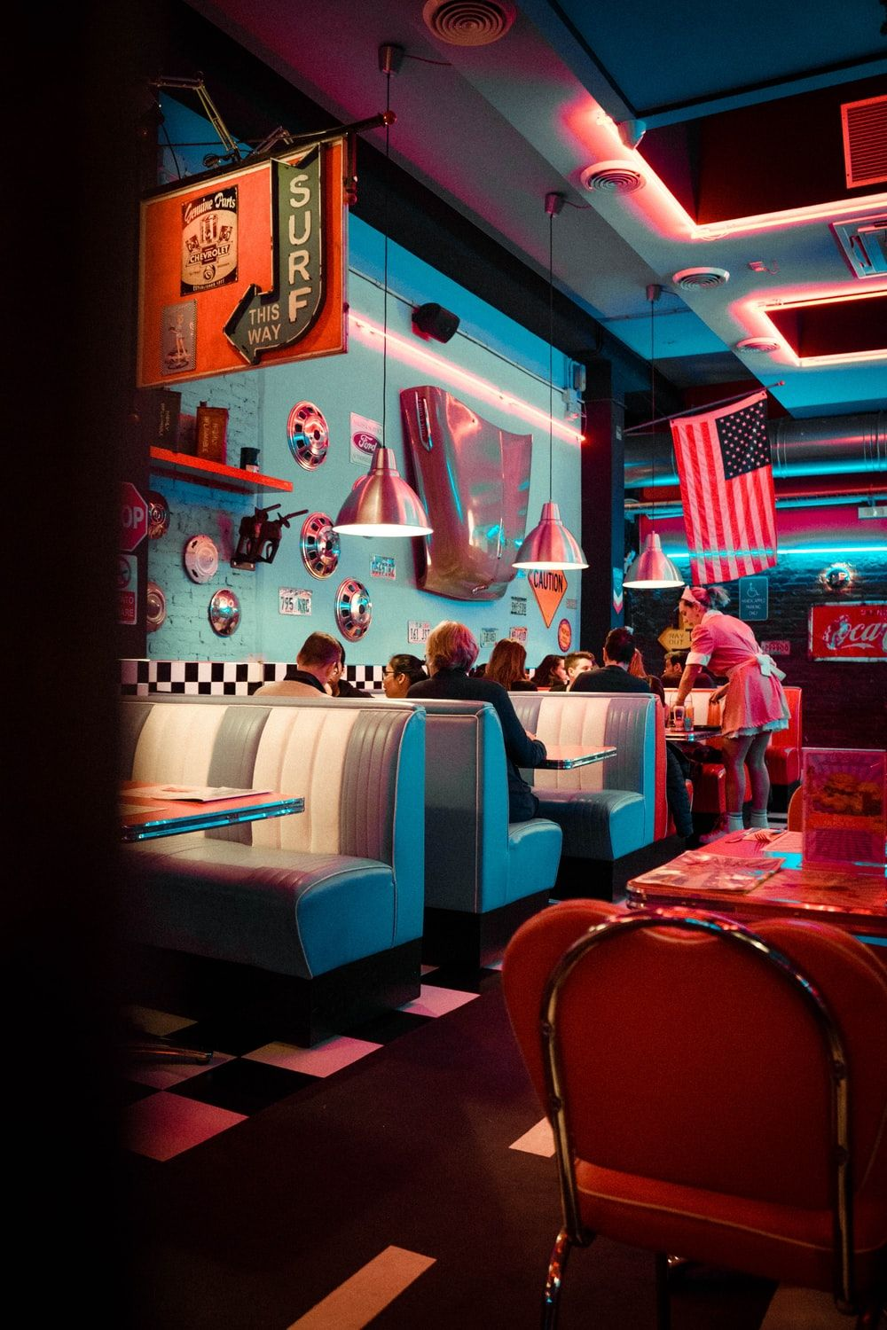 70s Diner Wallpapers Top Free 70s Diner Backgrounds Wallpaperaccess
