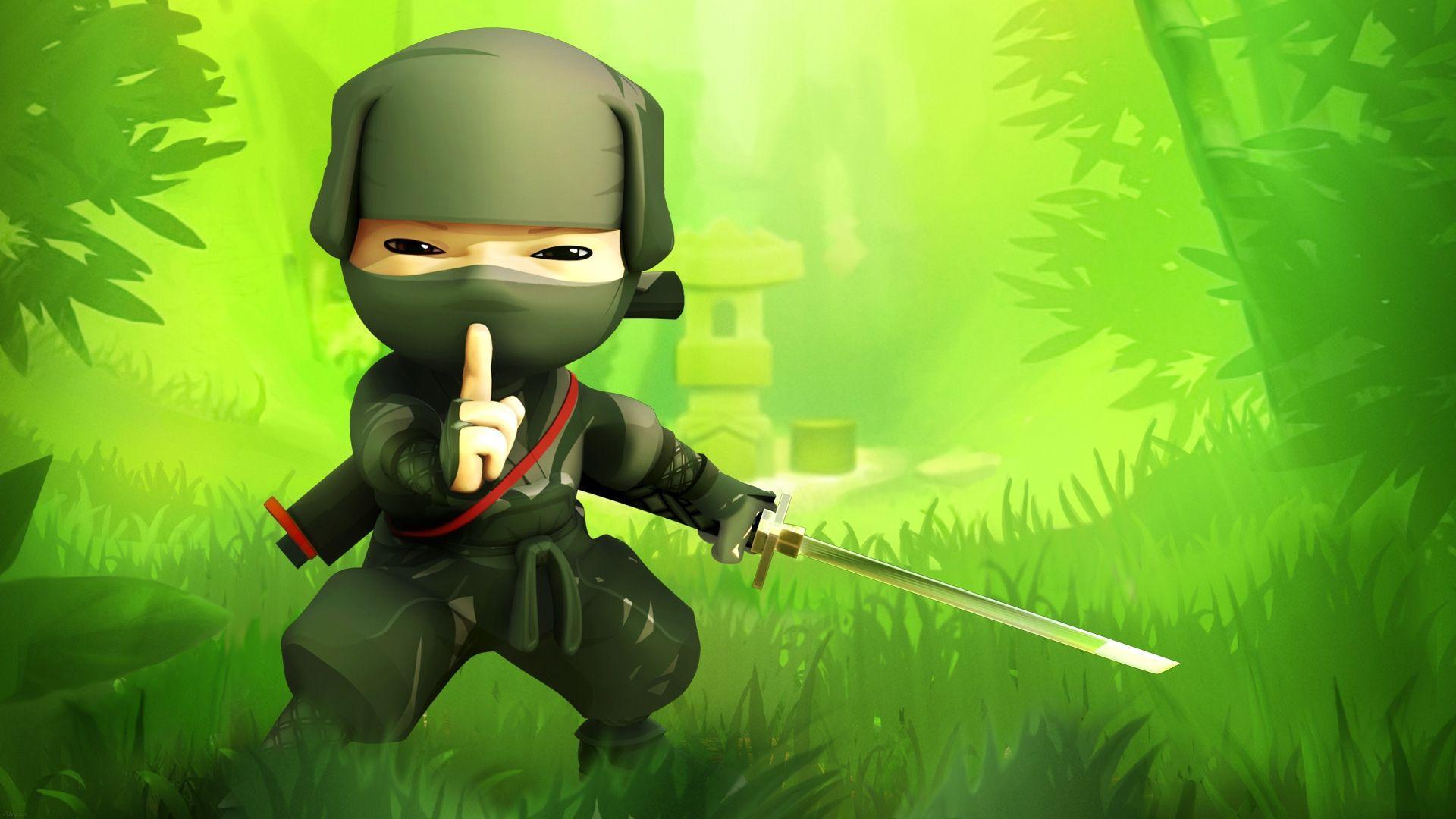 67 Best Free Cute Cartoon Ninja Wallpapers Wallpaperaccess