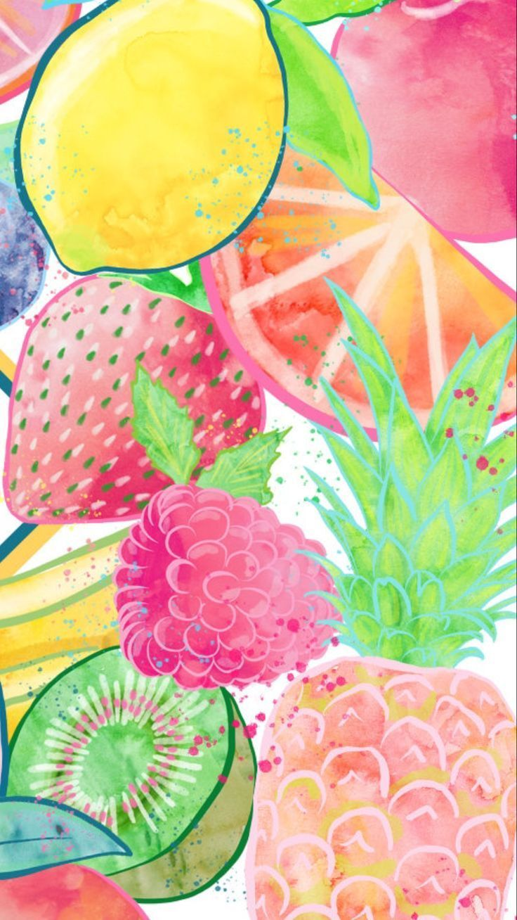 Summer Watercolor Wallpapers Top Free Summer Watercolor Backgrounds Wallpaperaccess